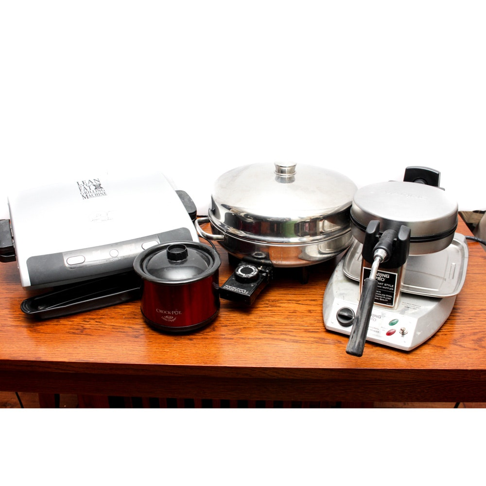 Kitchen Appliances Including Waring Pro