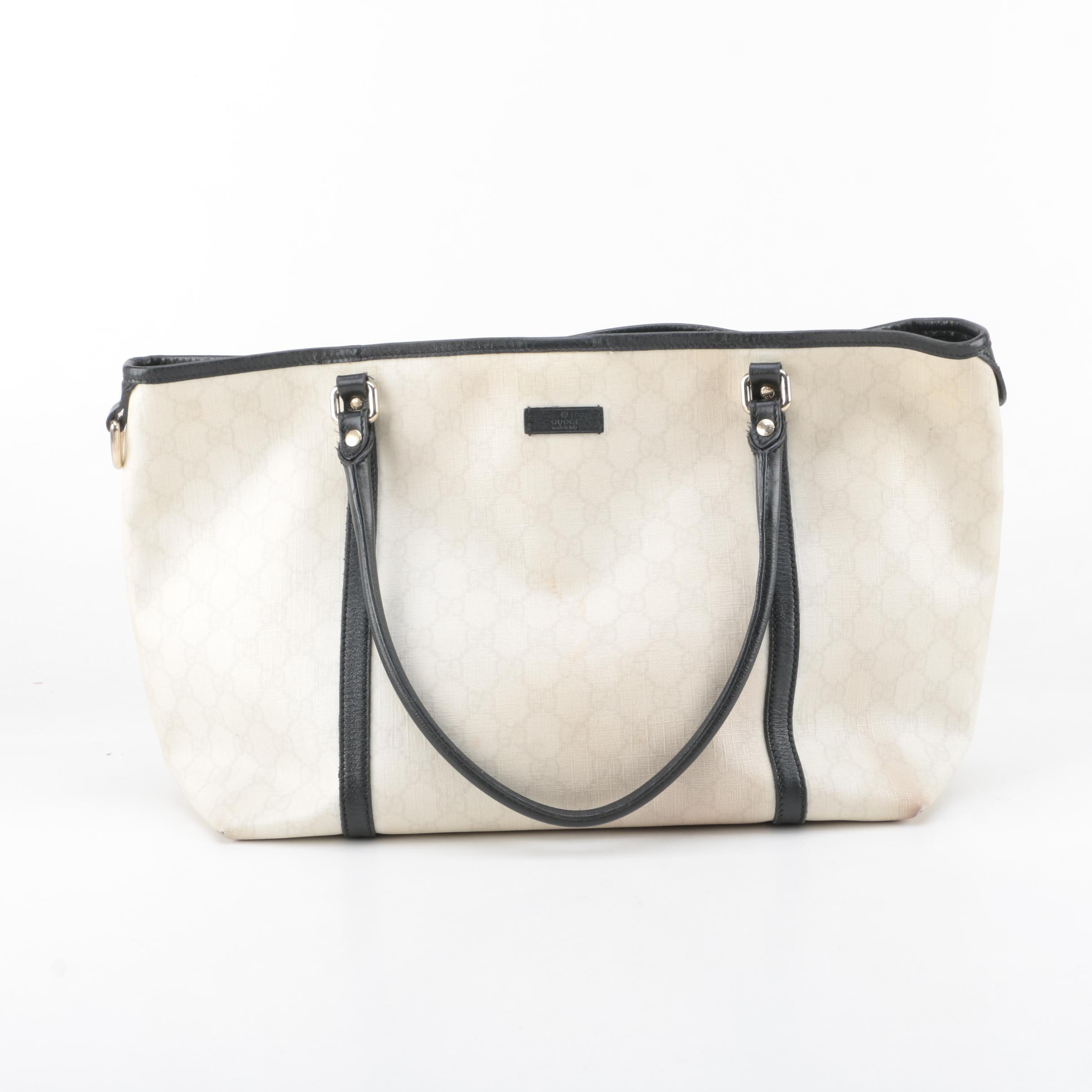 Gucci Joy GG Supreme Canvas Tote Bag