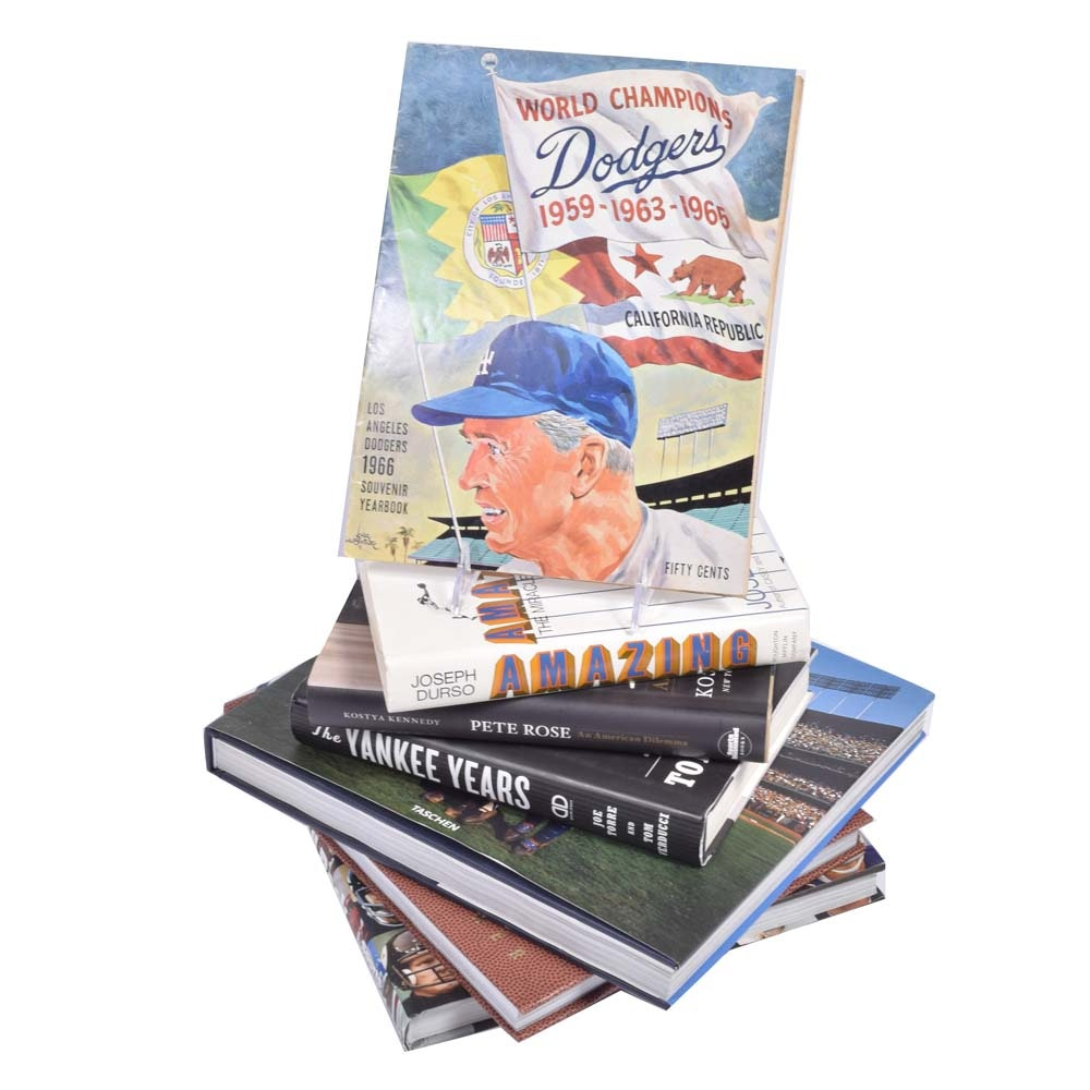 Baseball and Football Themed Books