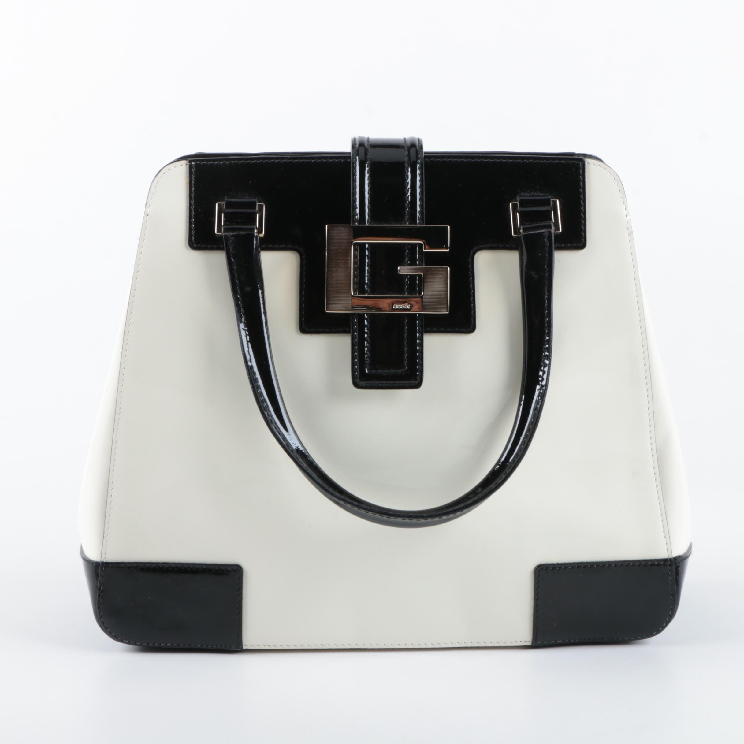 Gucci Patent Leather Top Handle Bag