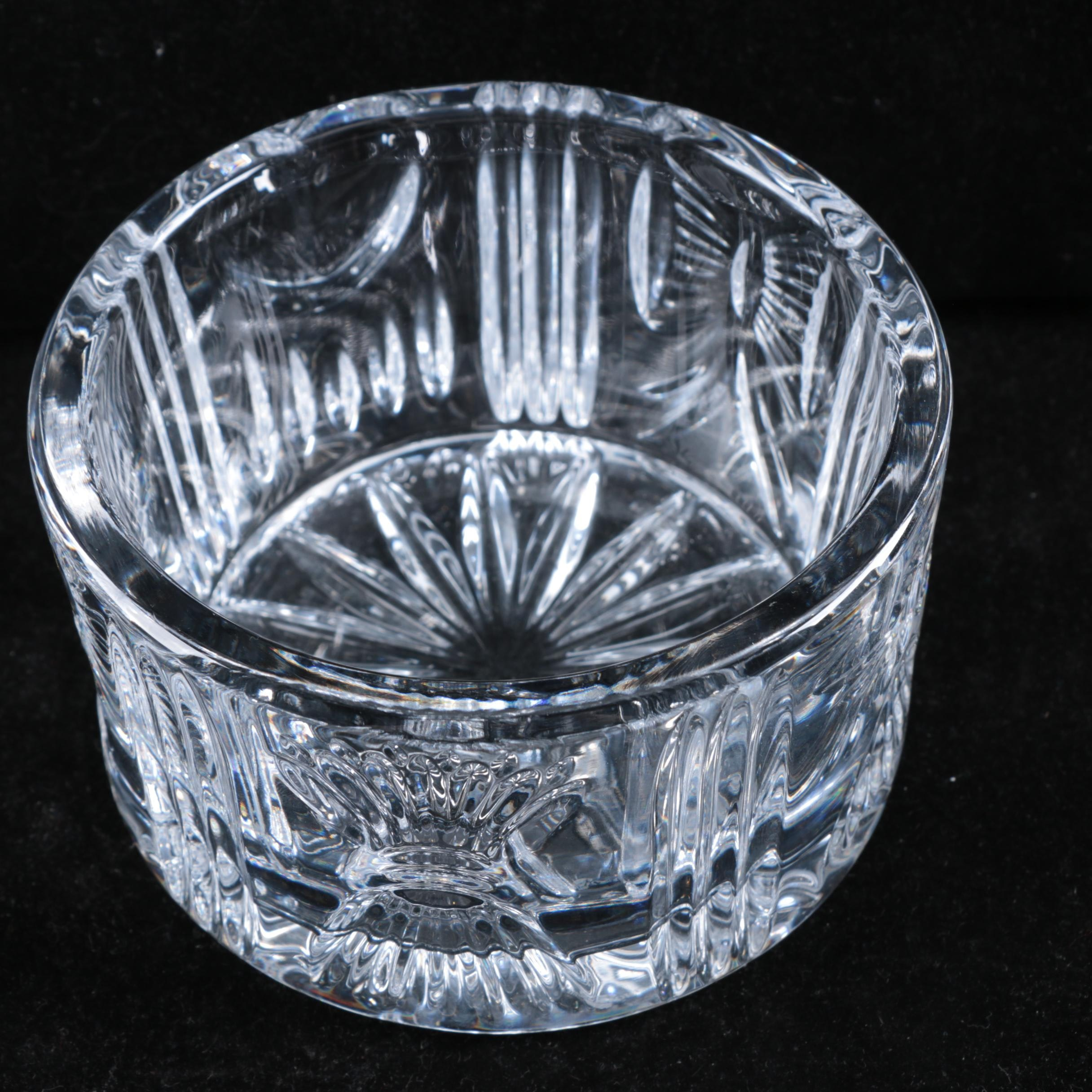 """Waterford Crystal """"Millennium Collection"""" Champagne Bottle Coaster"""
