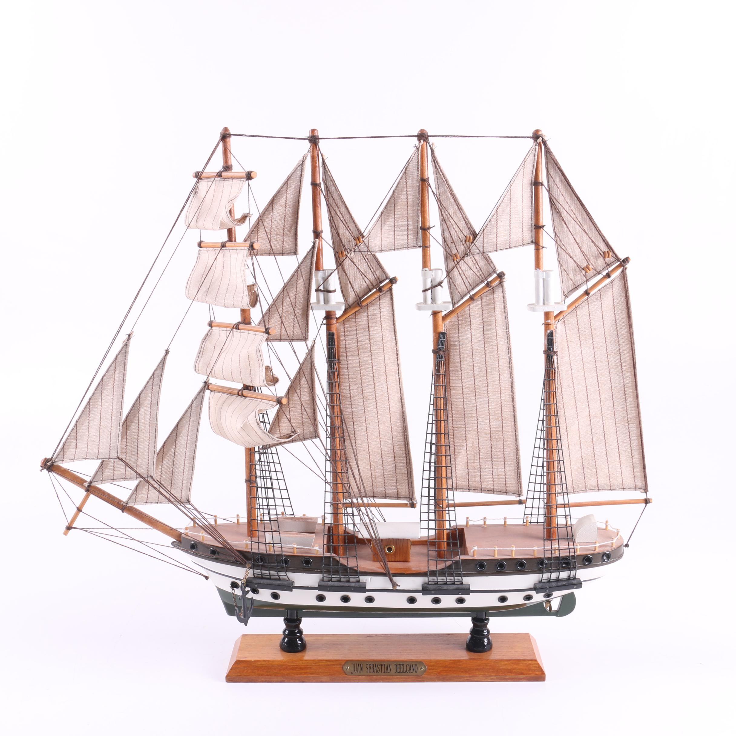 Juan Sebastián De Elcano Model Ship