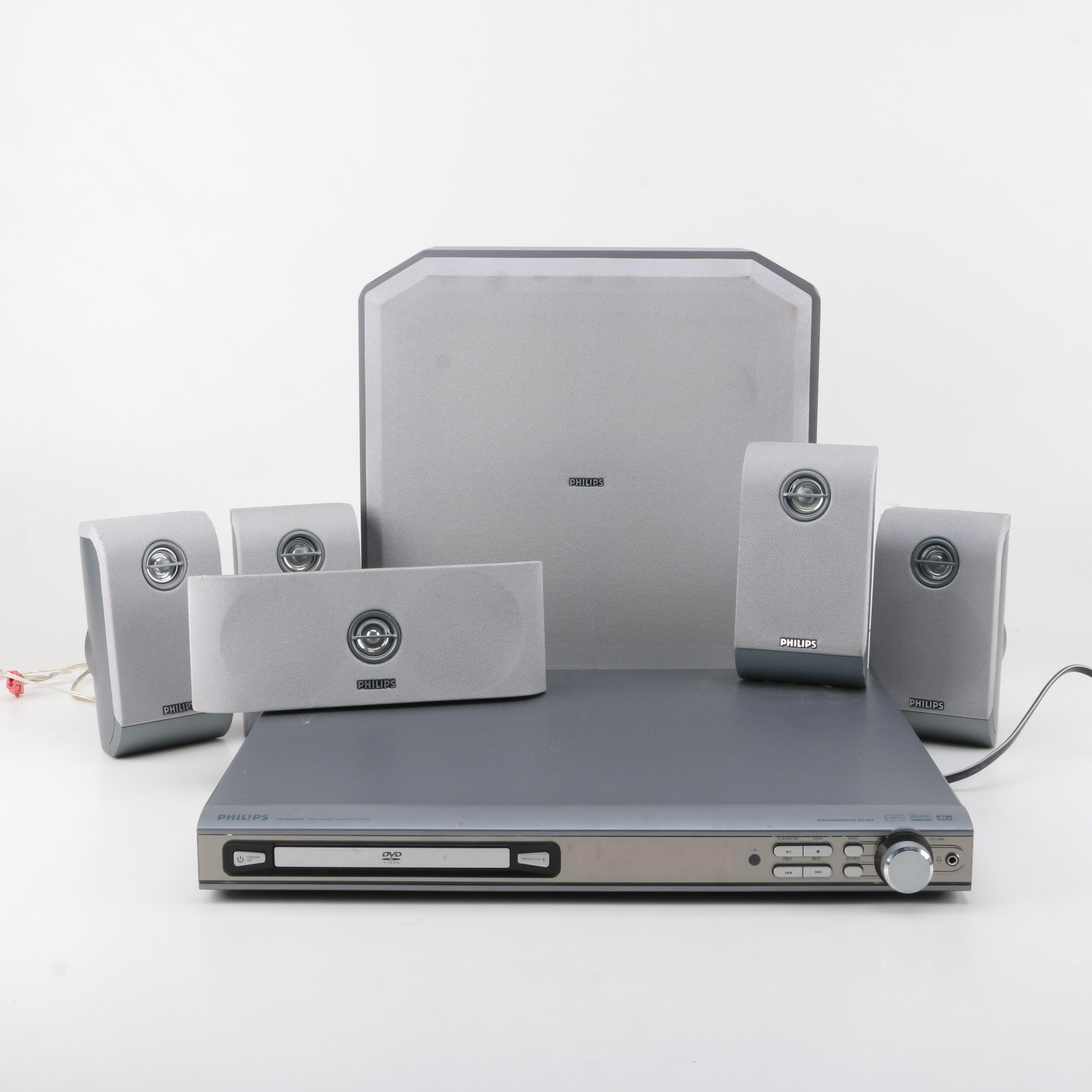 Philips HTS3410D Home Theater System