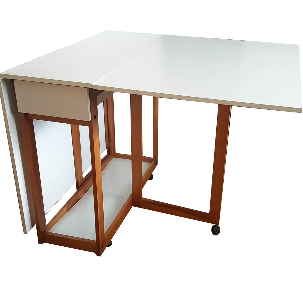 Drop Leaf Narrow Kitchen Table