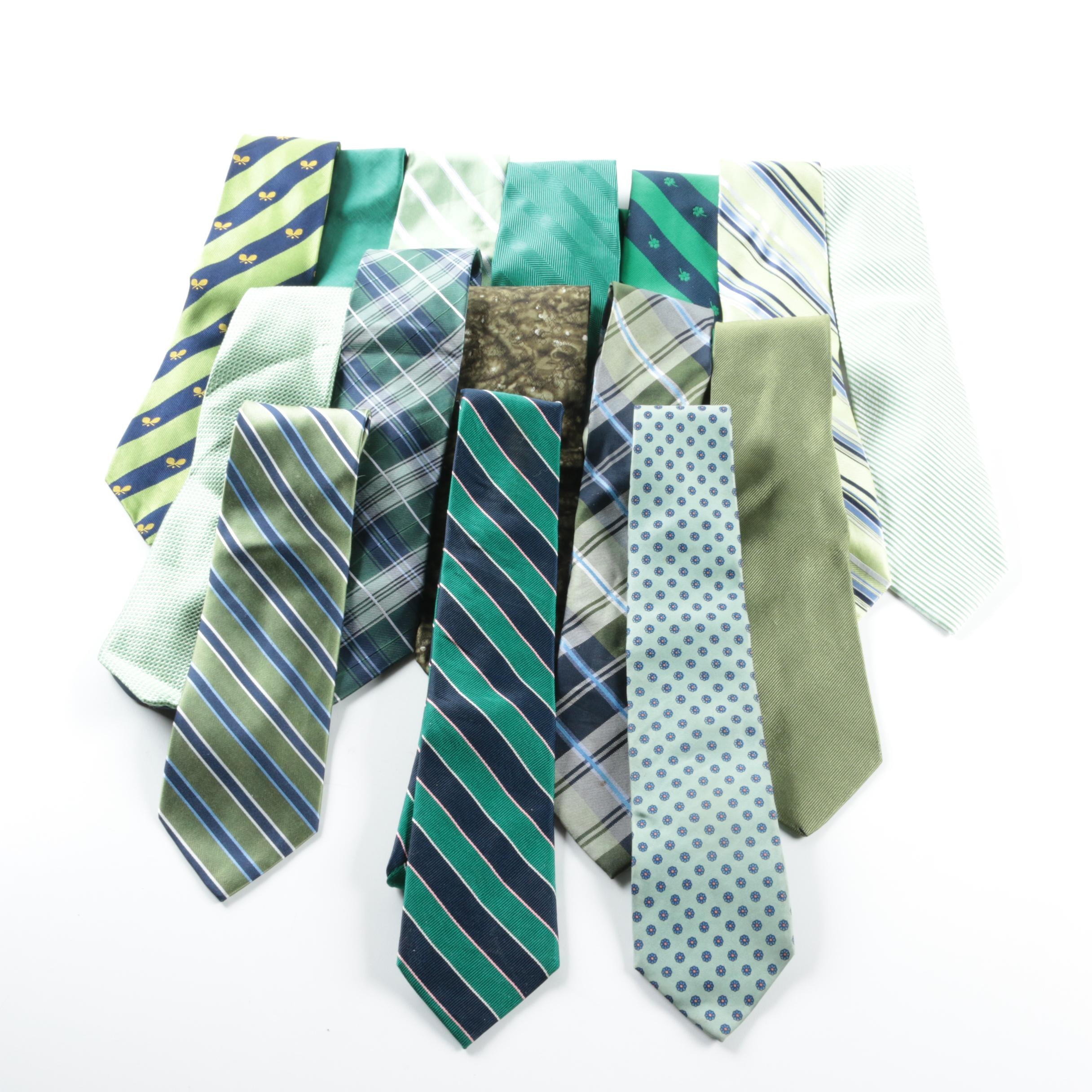 Men's Neckties Including Nautica and J.Crew