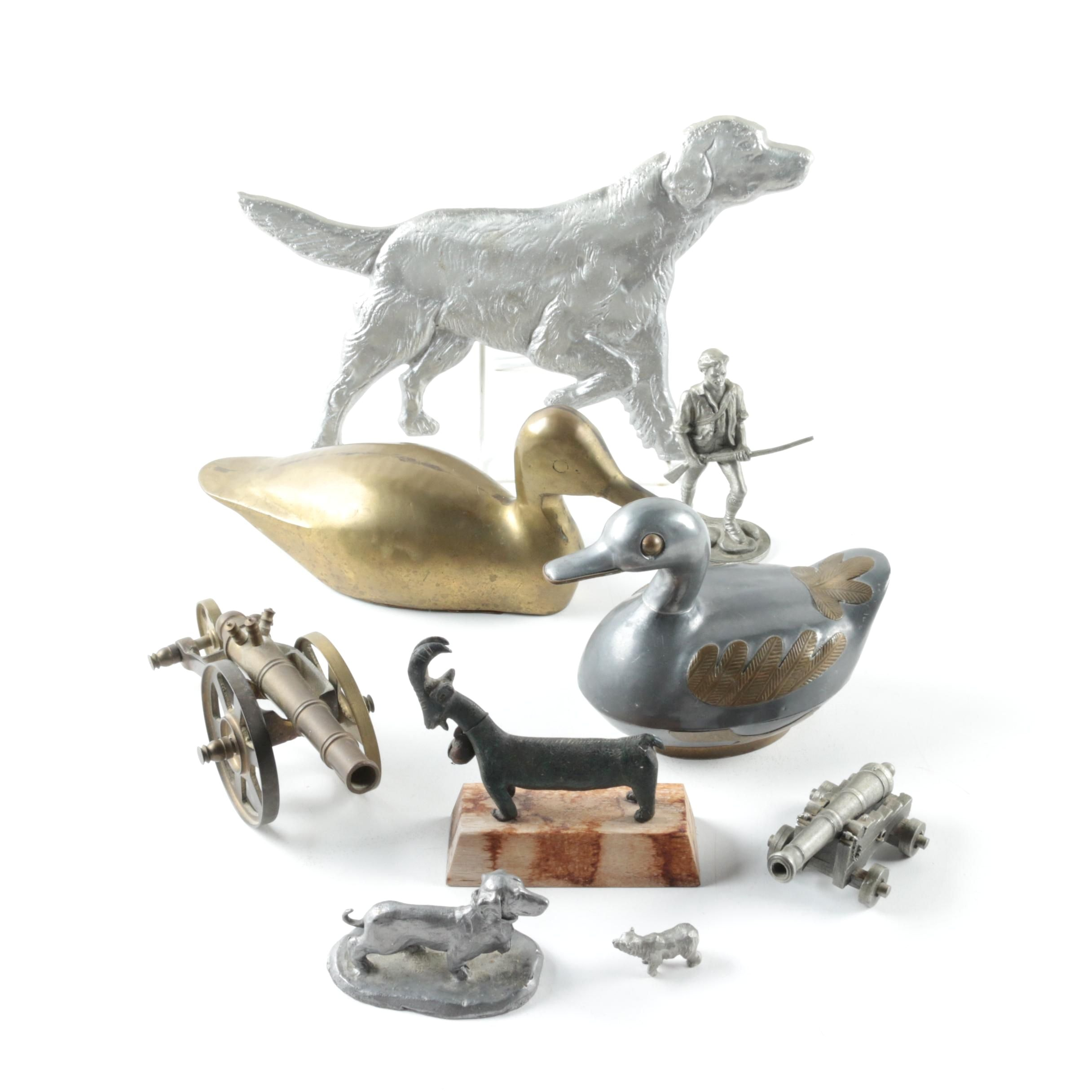 Metal Animal Figurines