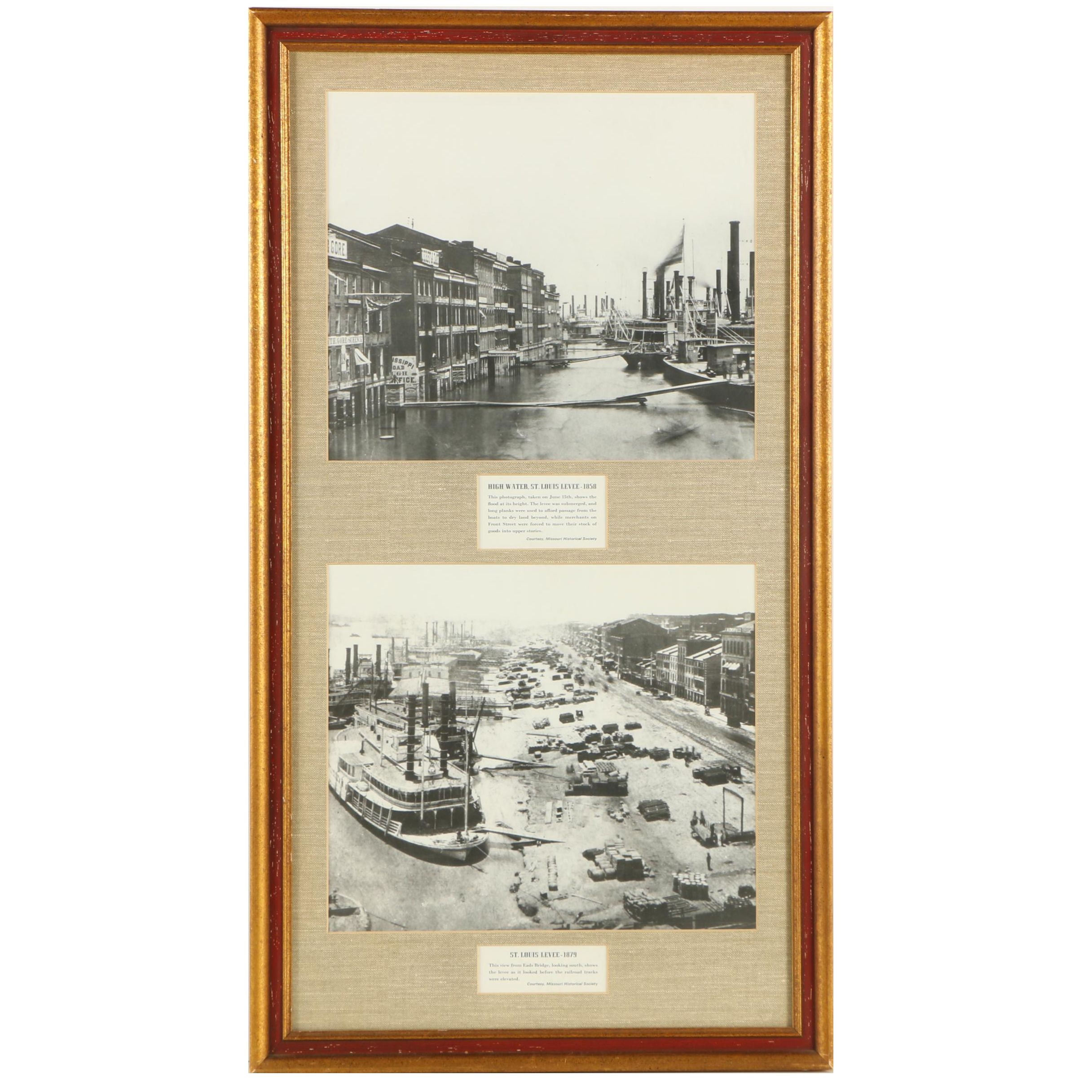 Gelatin Silver Photographs of Missourian Landmarks