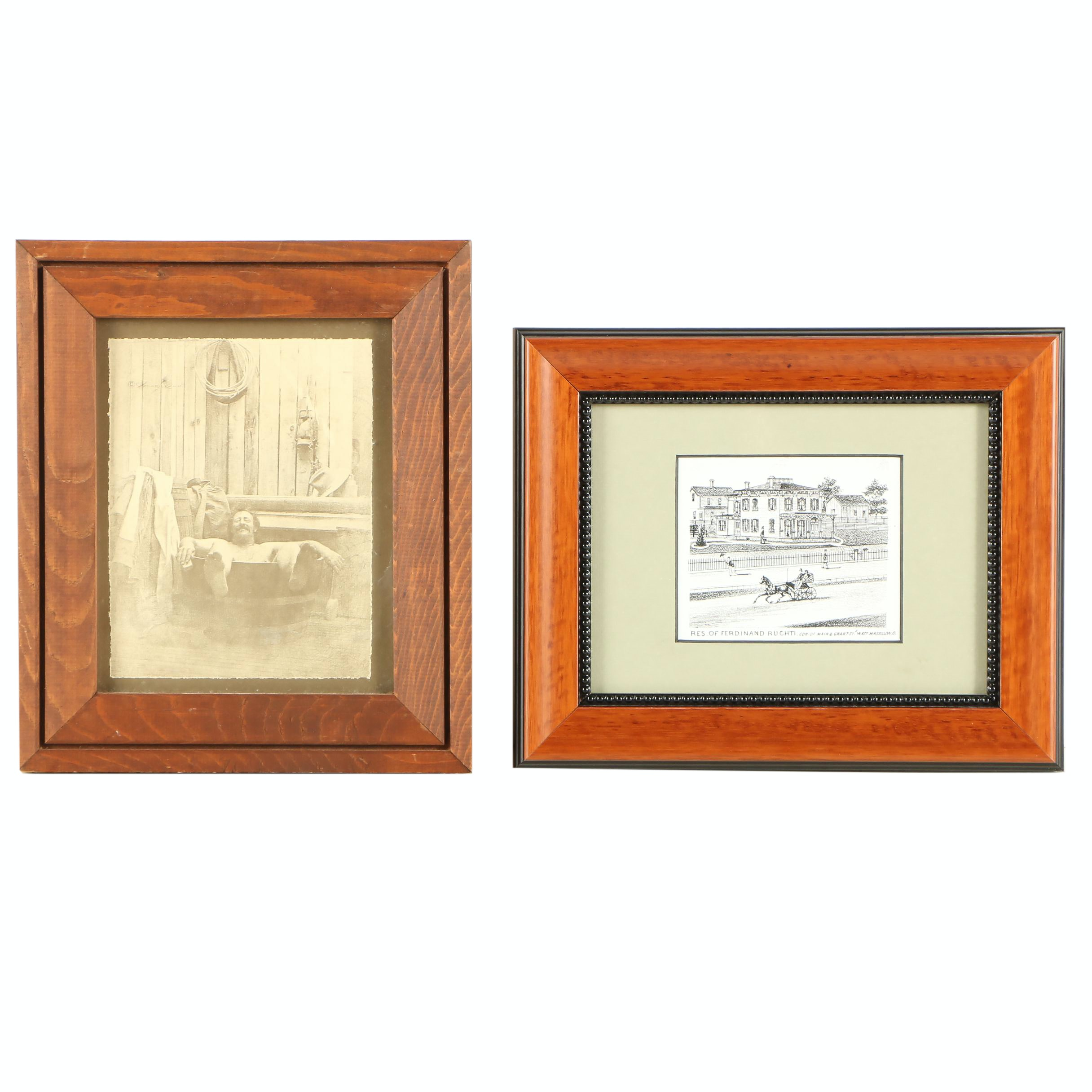 Reproduction Prints of Outdoor Scenes
