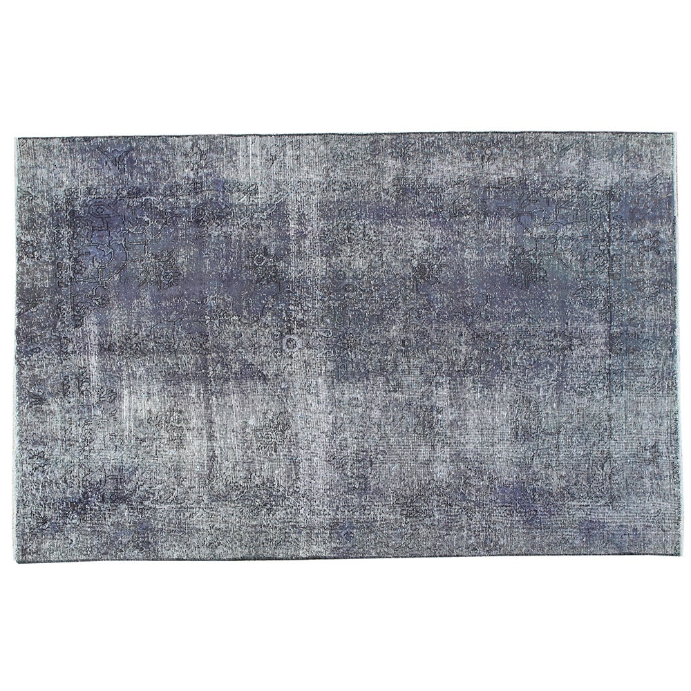 Hand-Knotted Turkish Overdyed Area Rug