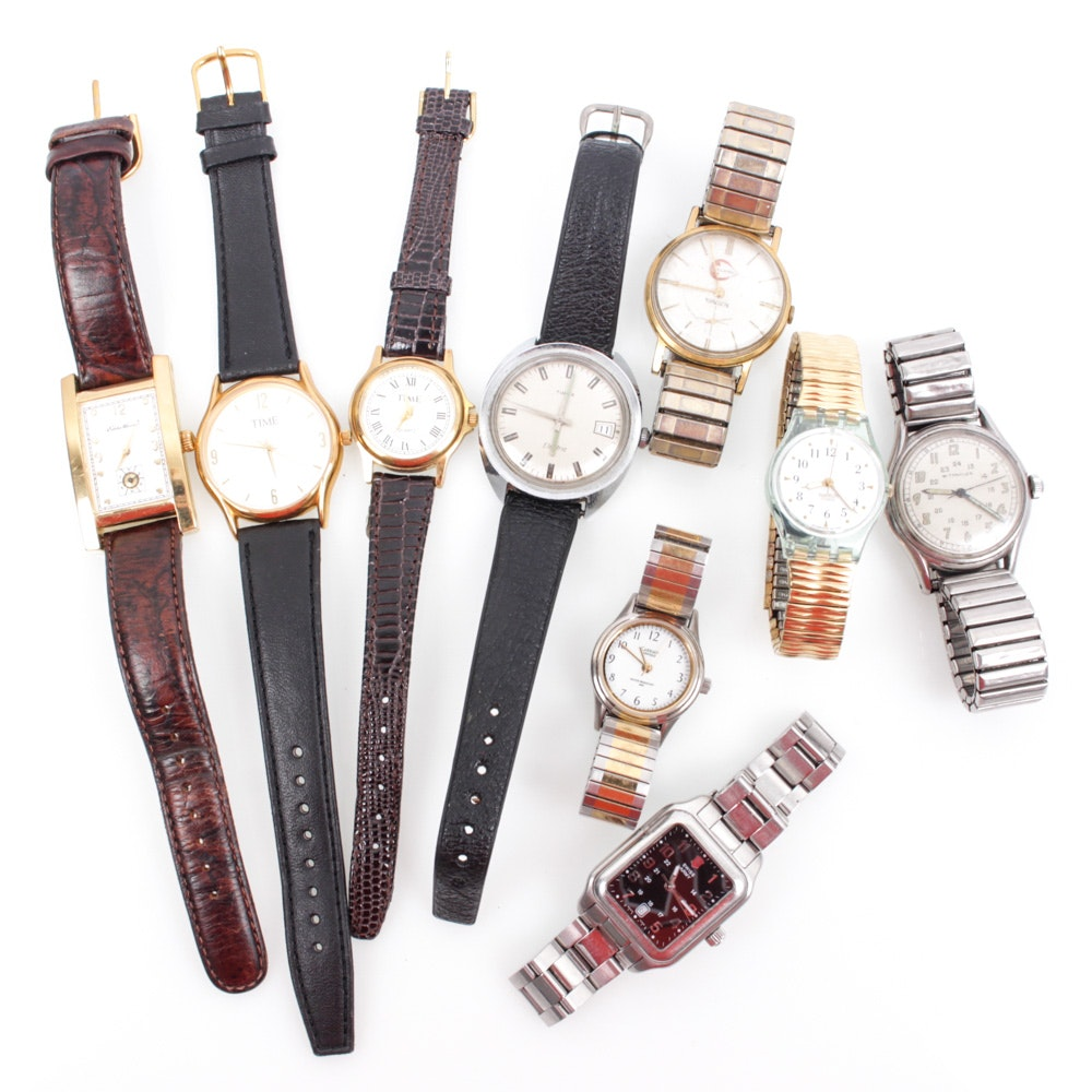 Vintage and Contemporary Watches