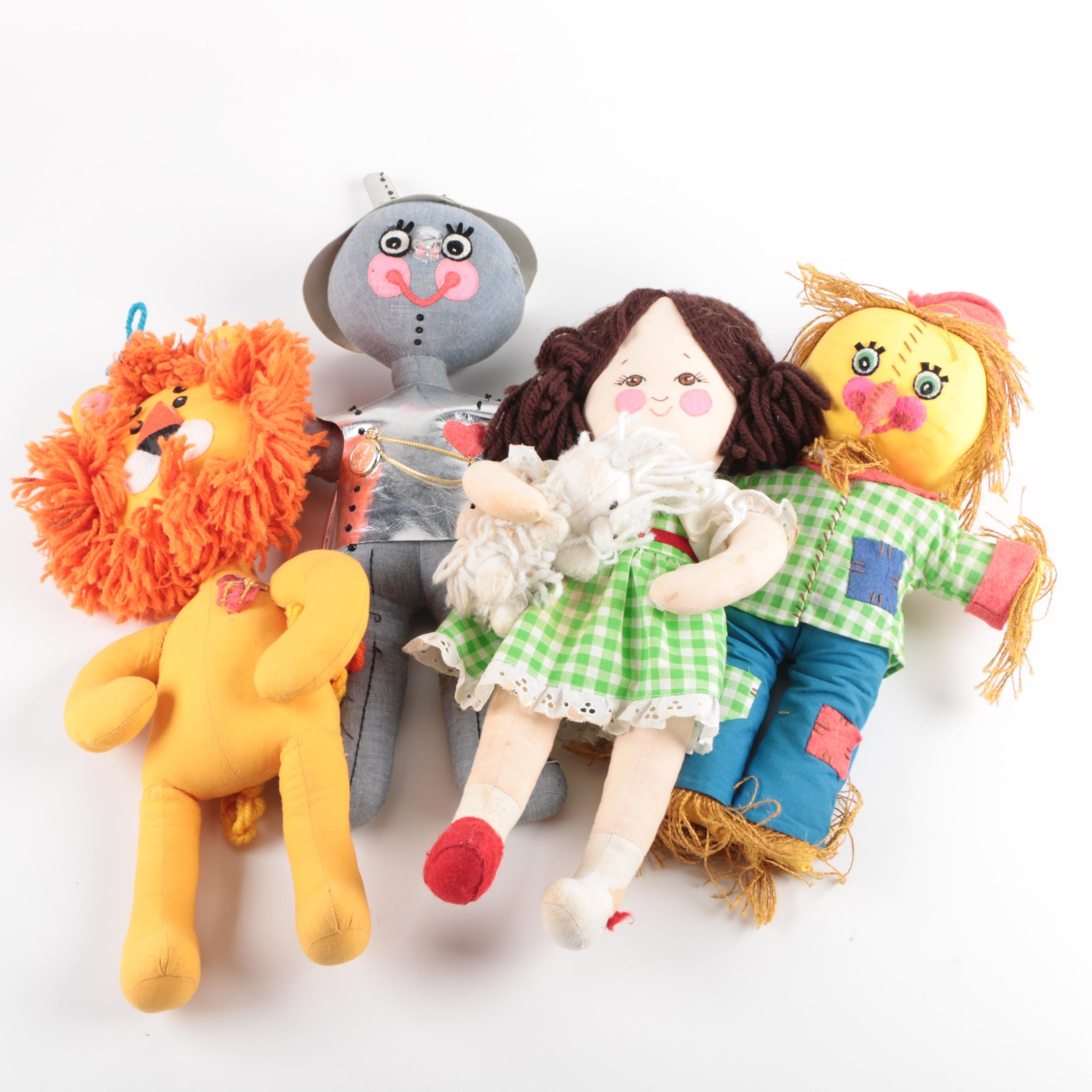 Wizard of Oz Plush Dolls