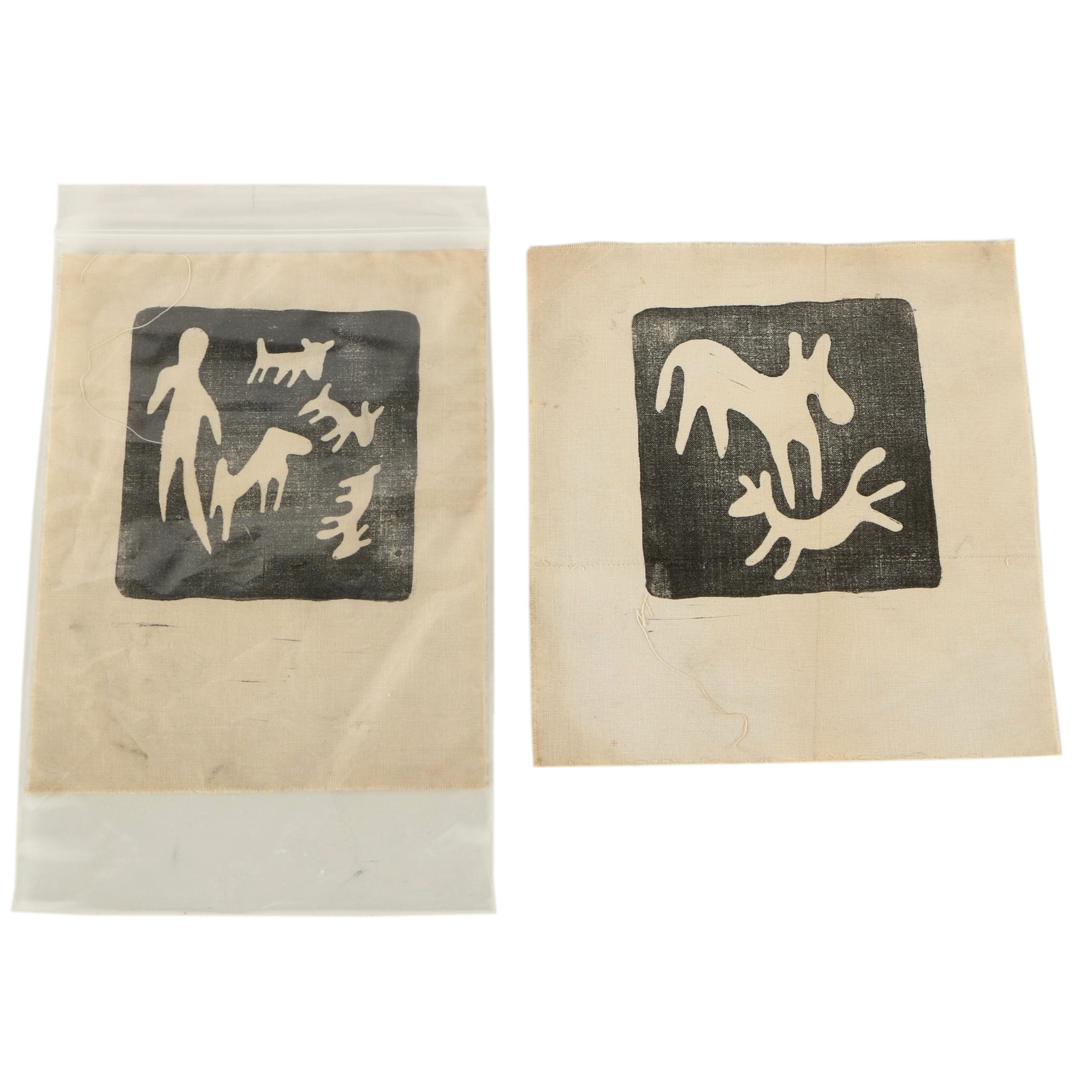 Indigenous Inspired Reproduction Prints on Cloth