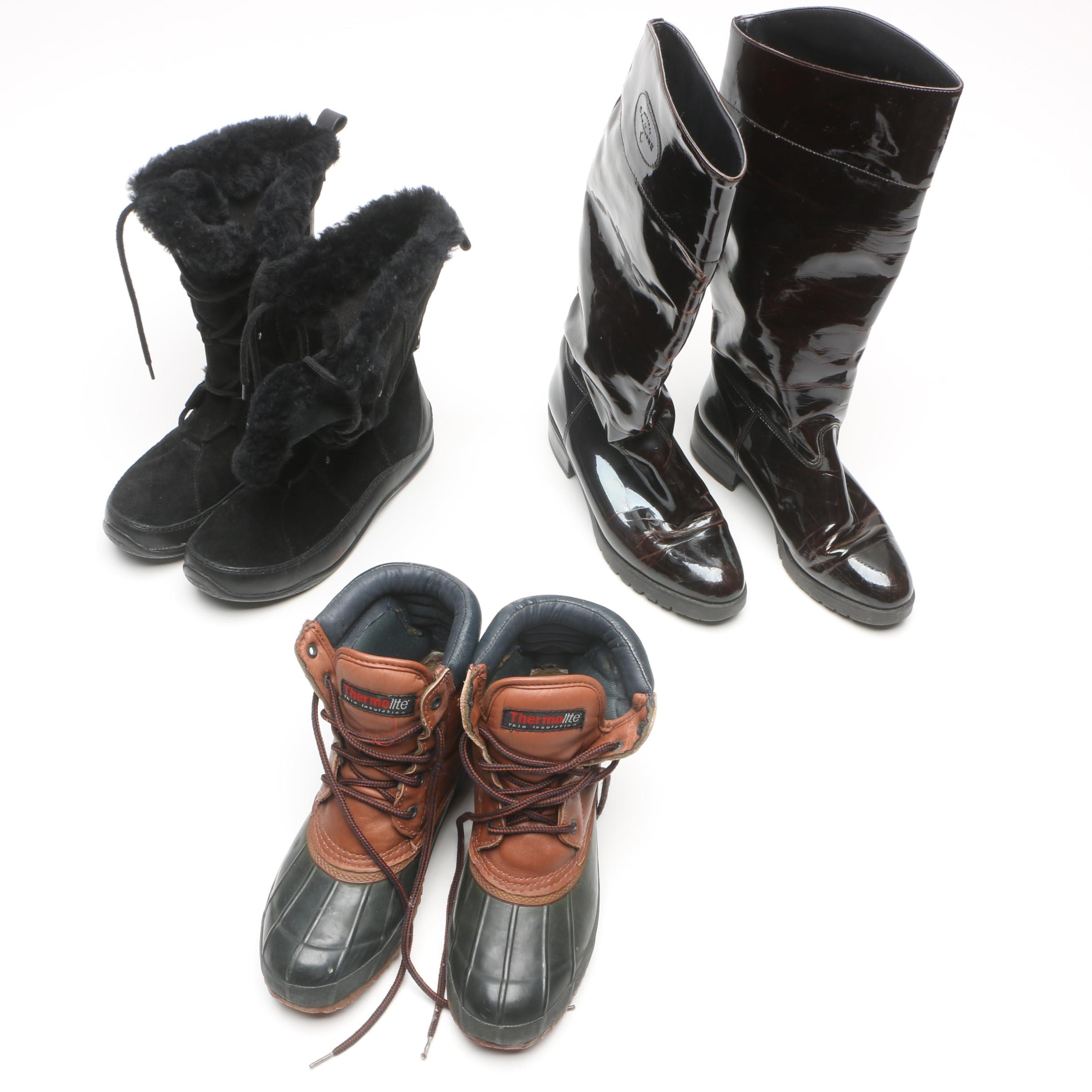 Women's Boots Including The North Face And La Canadienne