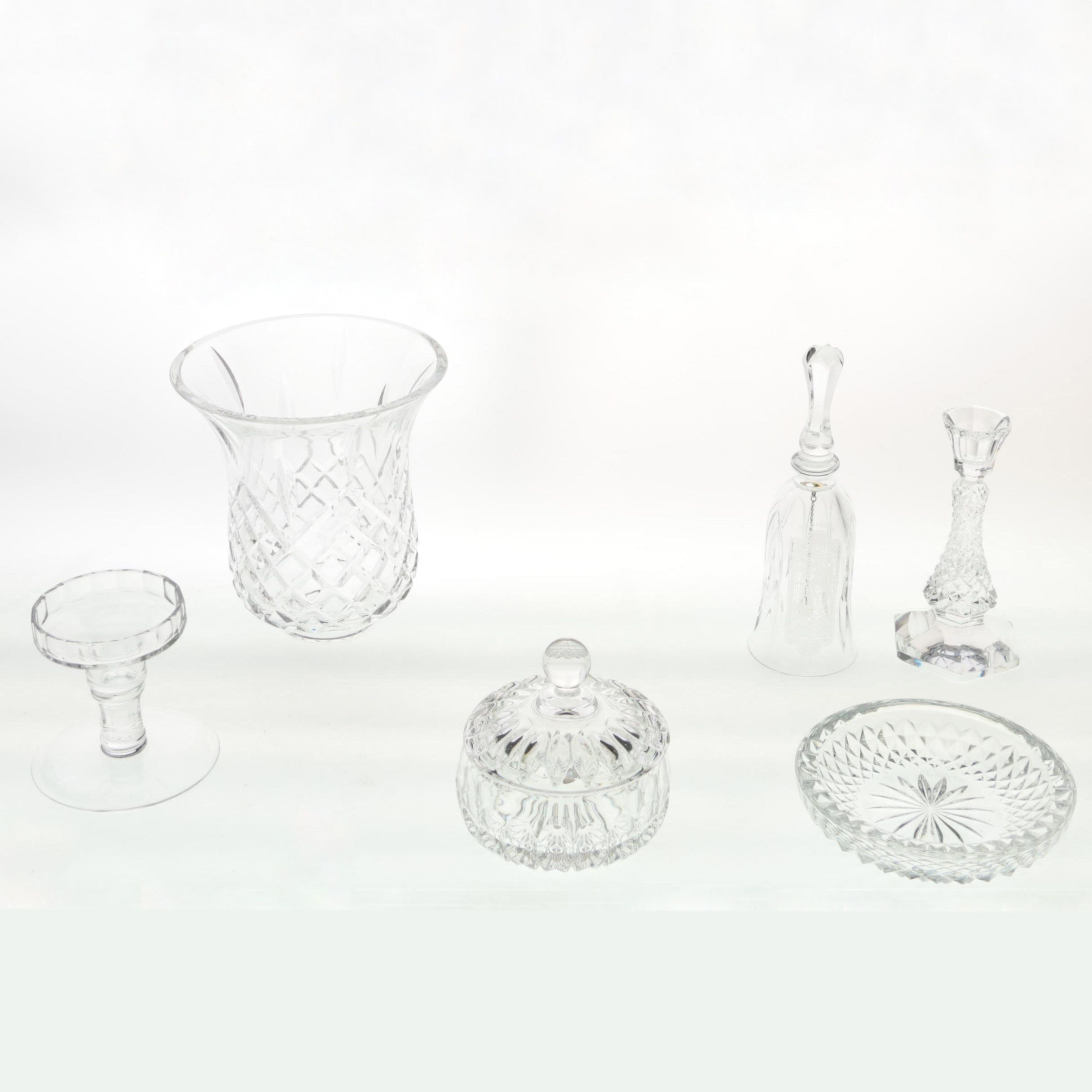 Decorative Crystal Including Val St. Lambert and Gorham