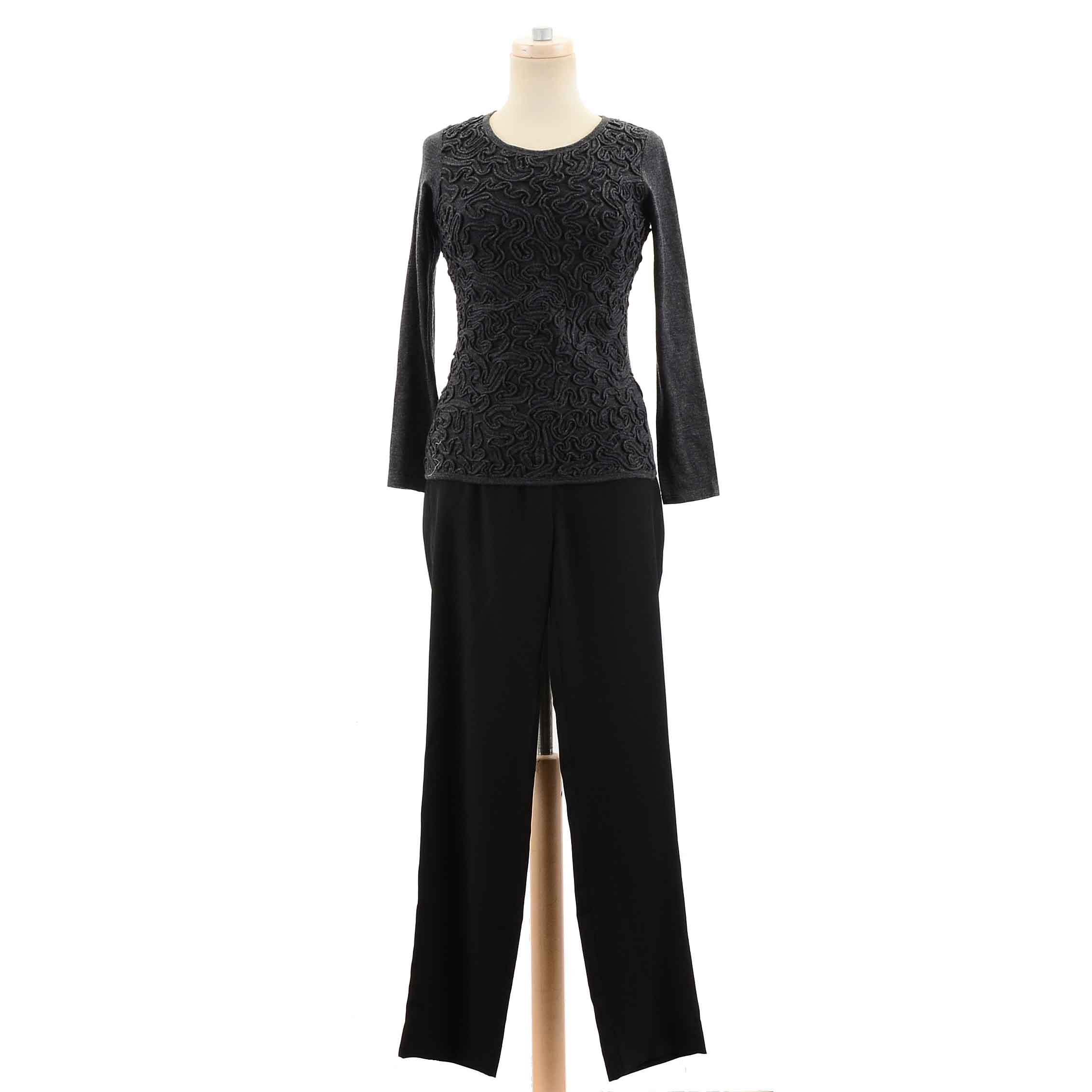 Women's Designer Separates Including Armani and Lamberto Losani