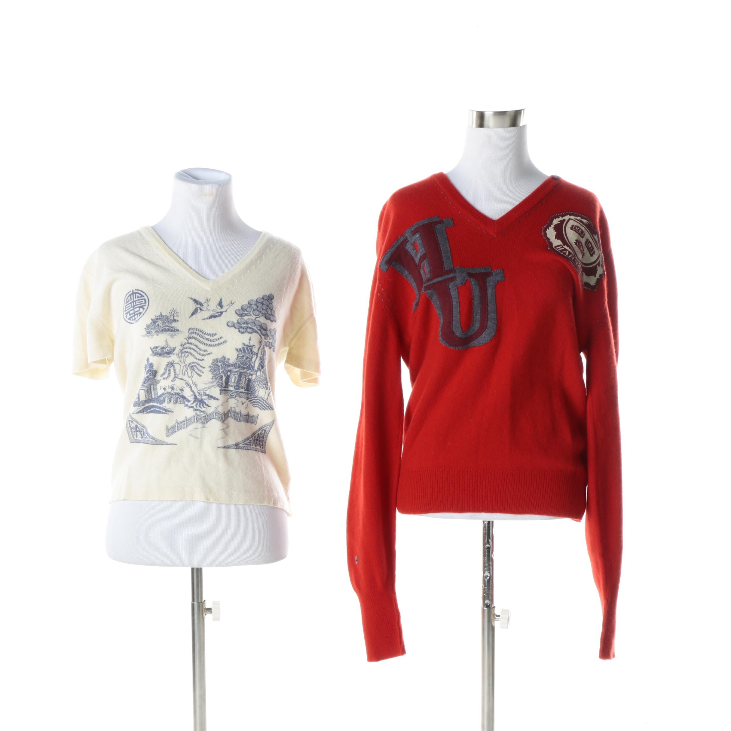 Women's Novelty Cashmere Sweaters