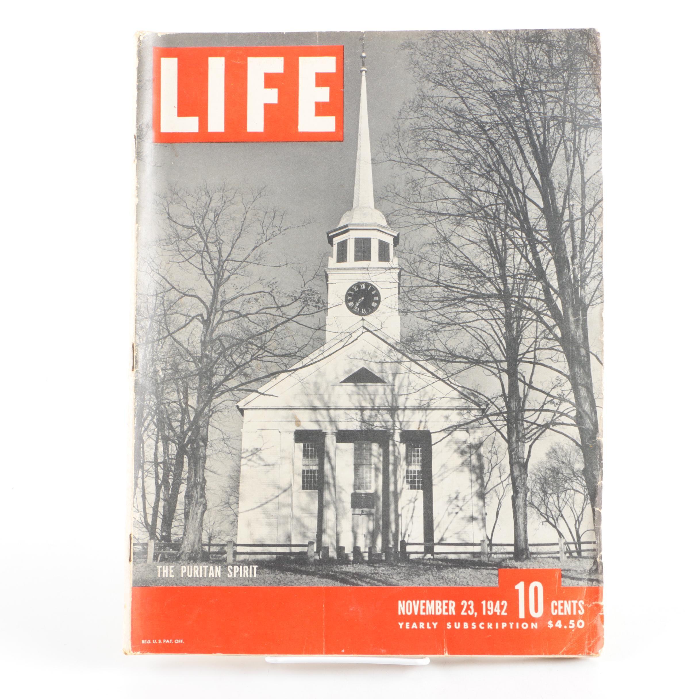 "1942 ""Life"" Magazine Issue"