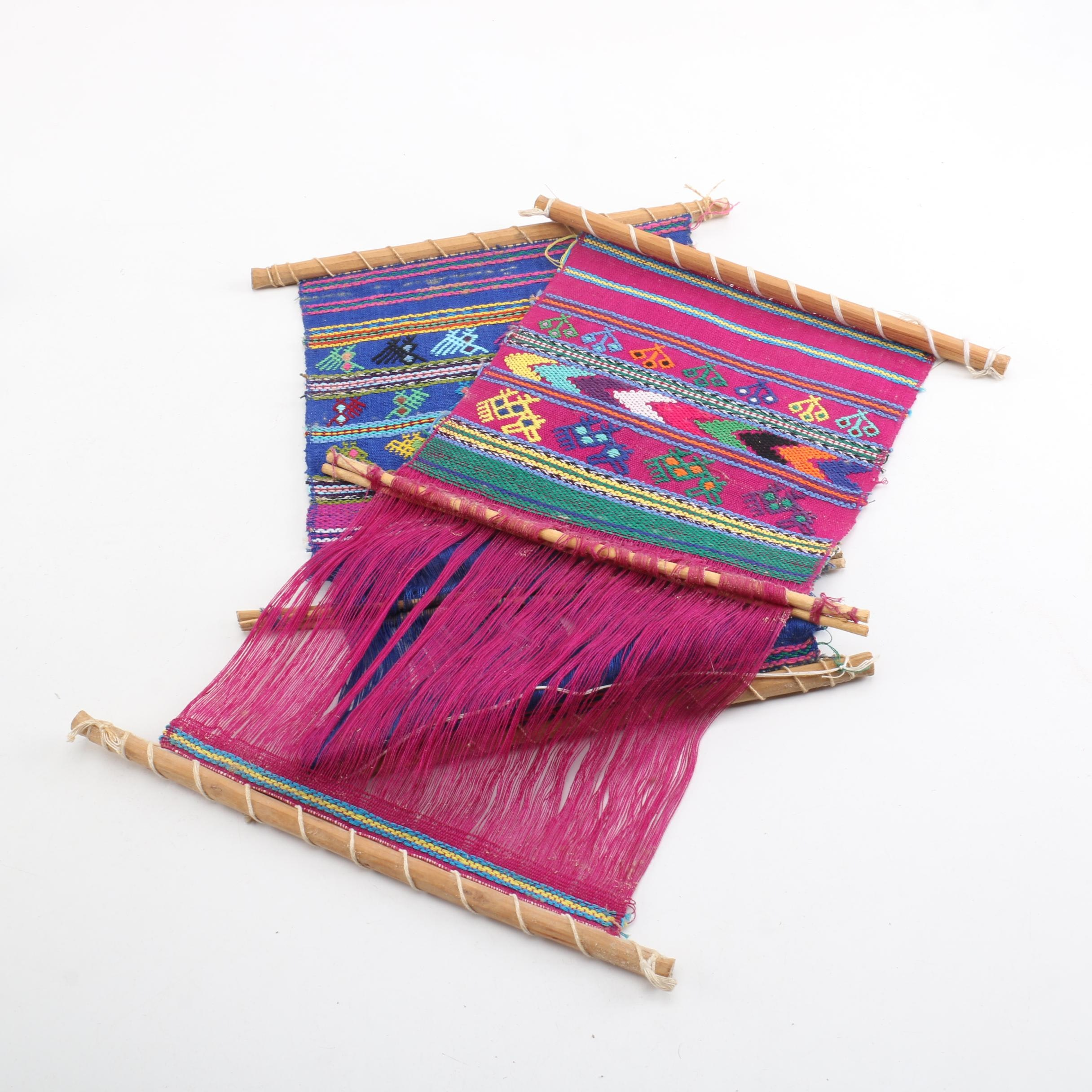 Handwoven Central American Textiles on Backstrap Looms