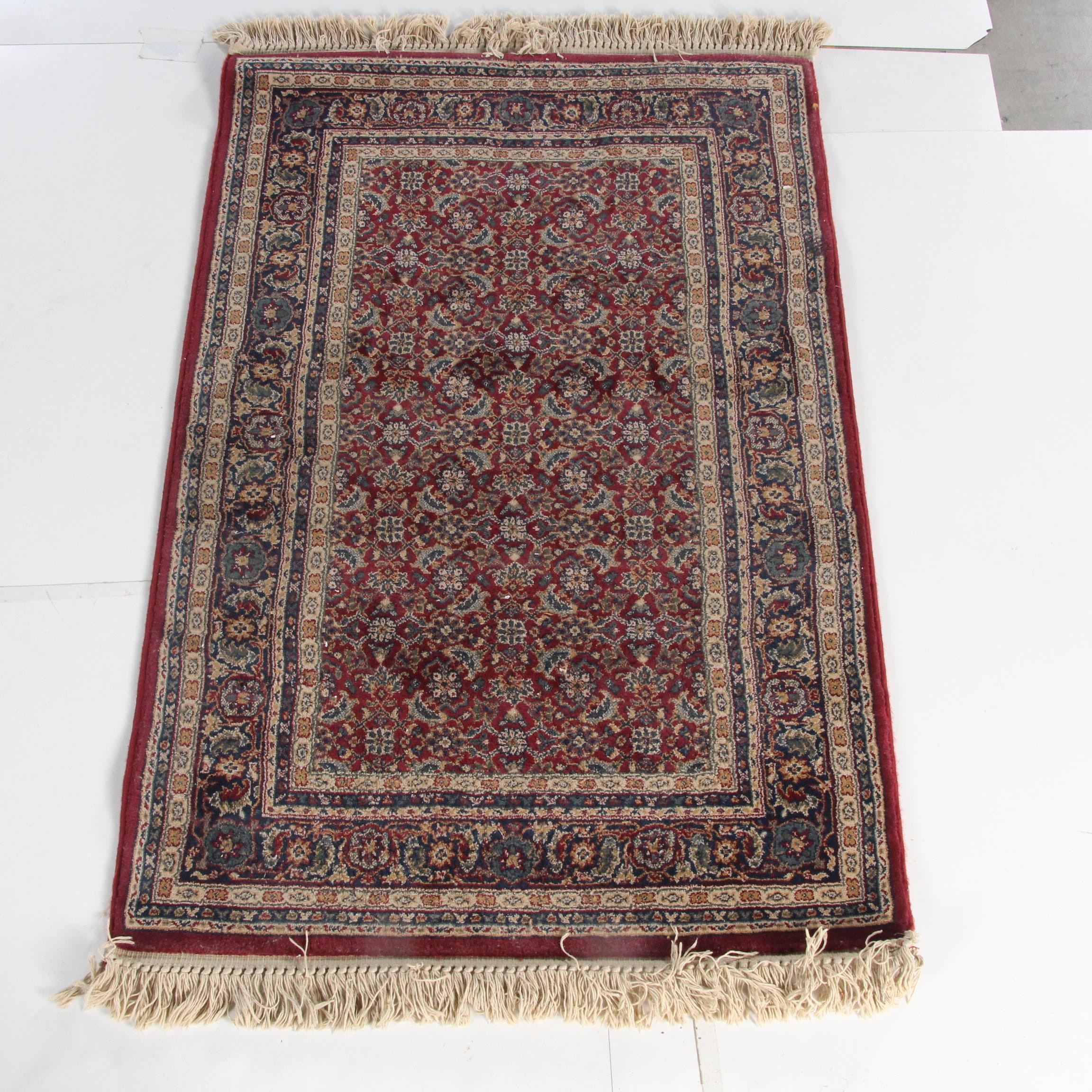 "Power-Loomed Dynamic ""Majestic"" Wool Area Rug"