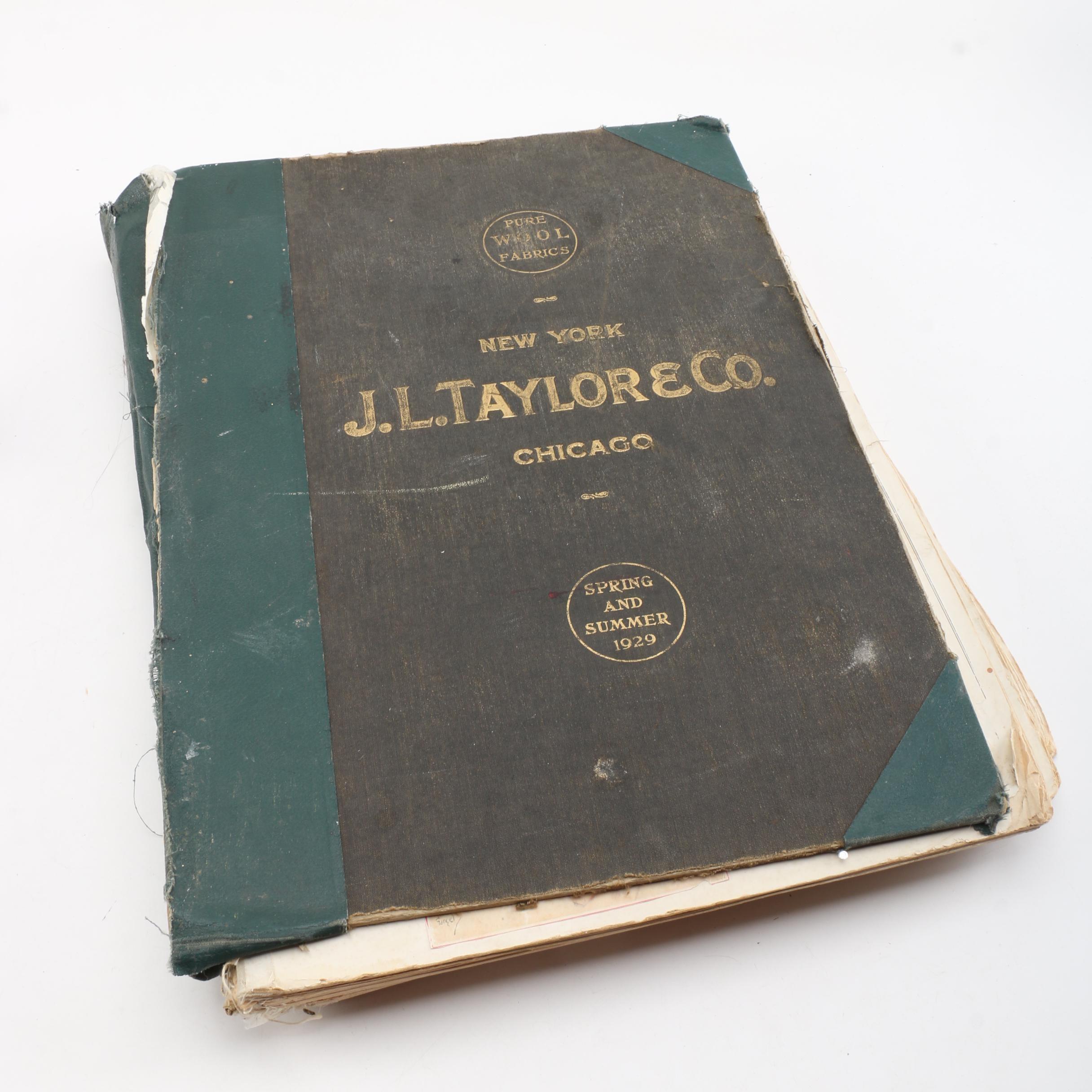 J.L. Taylor & Co. Vintage Scrapbook