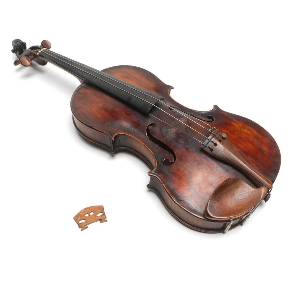 Antique Herman Weaver Violin