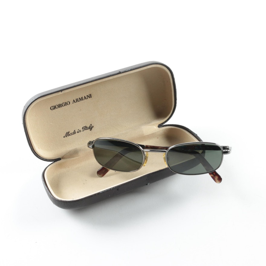 76f785fd2fc Giorgio Armani 671 976 Sunglasses with Case   EBTH