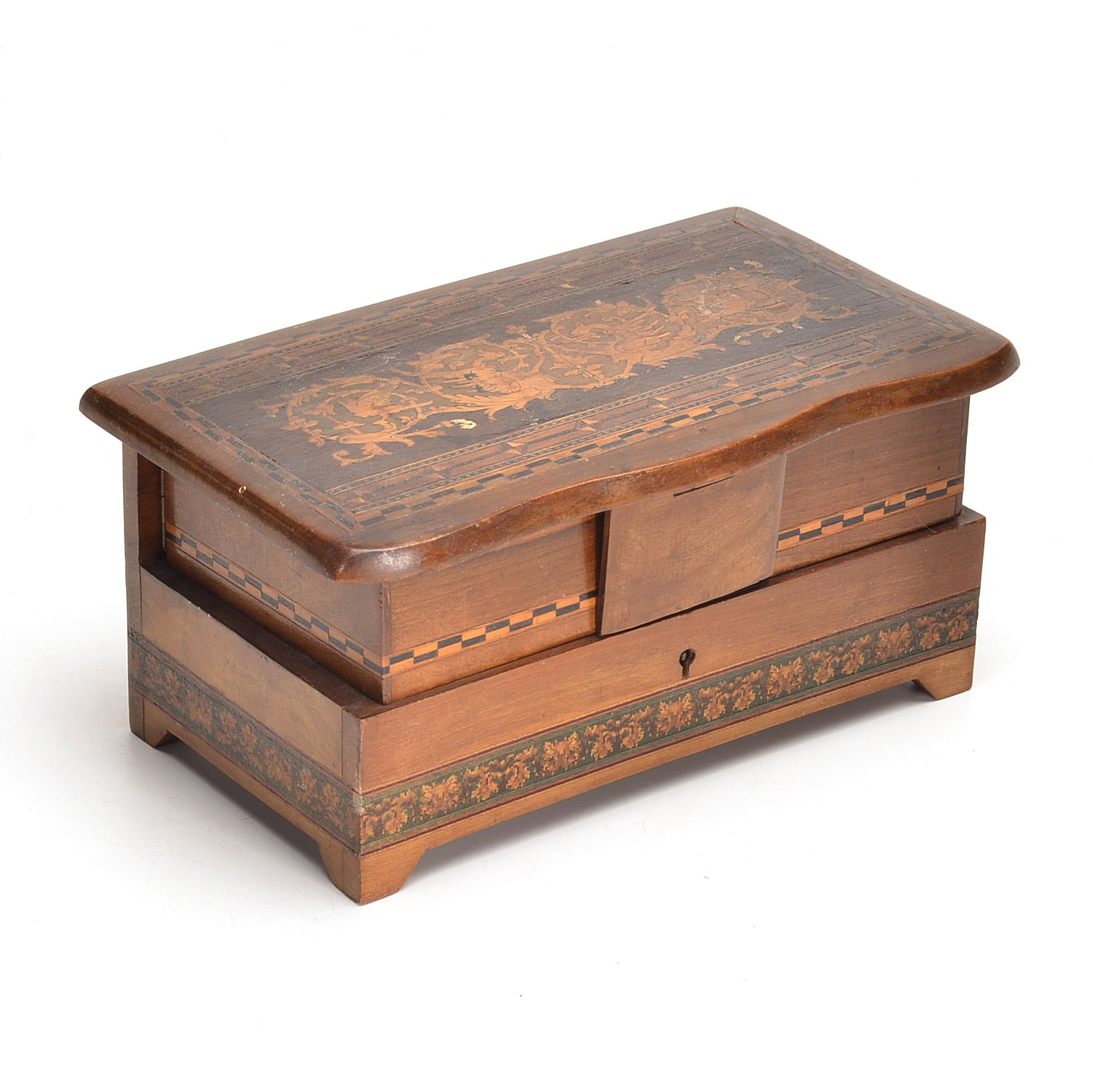Italian Jewelry Coffin
