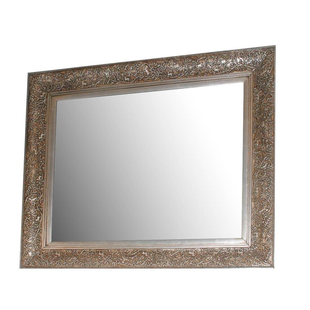 Foliate Framed Wall Mirror
