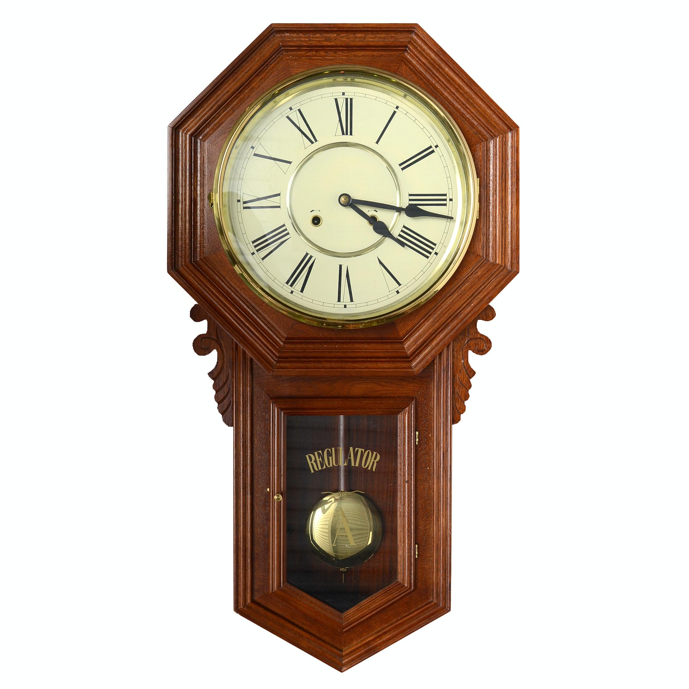 Regulator School Wall Clock