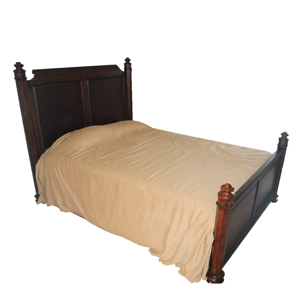 Mid-19th Century Style Queen-Size Bed Frame