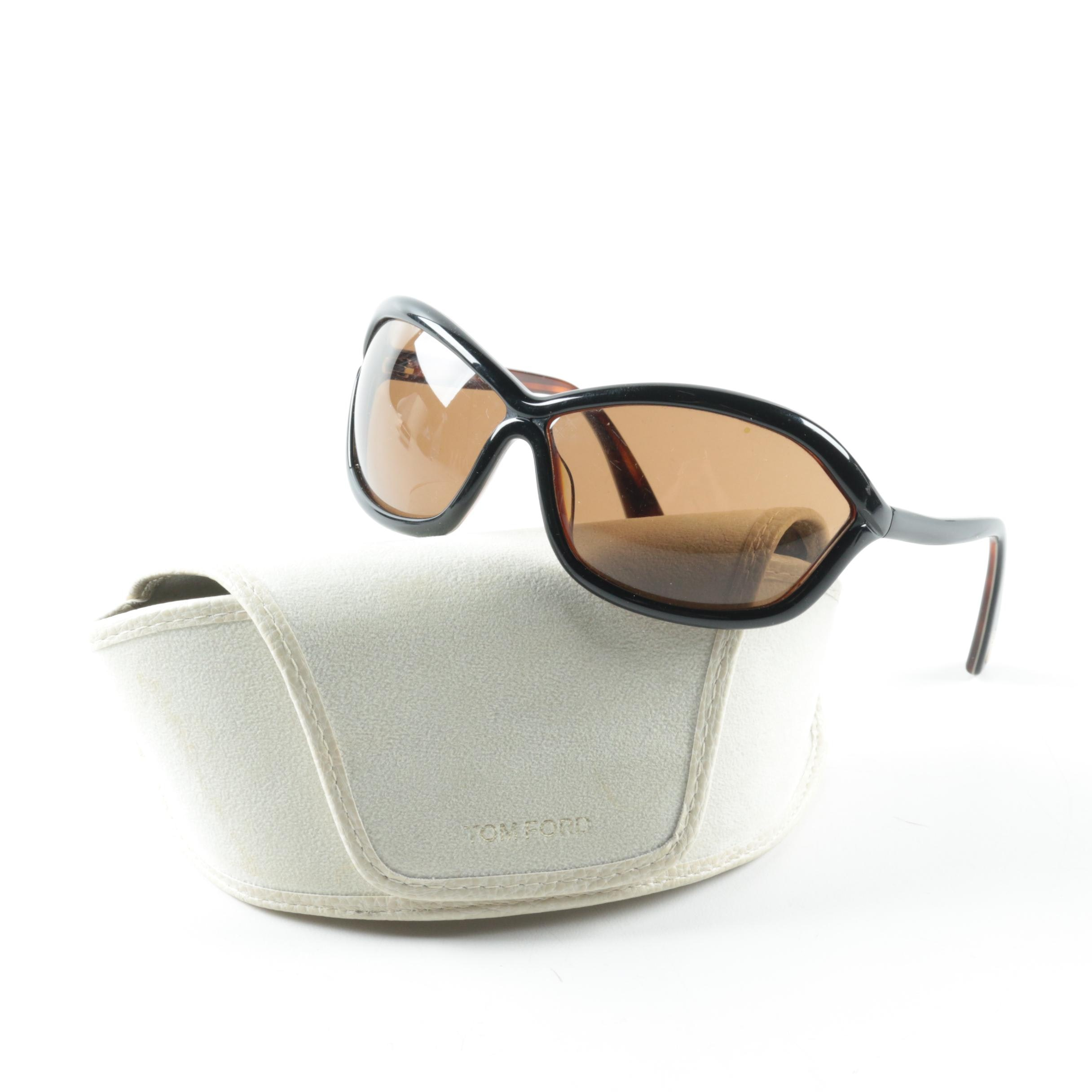 Tom Ford Patek Oversized Sunglasses with Case