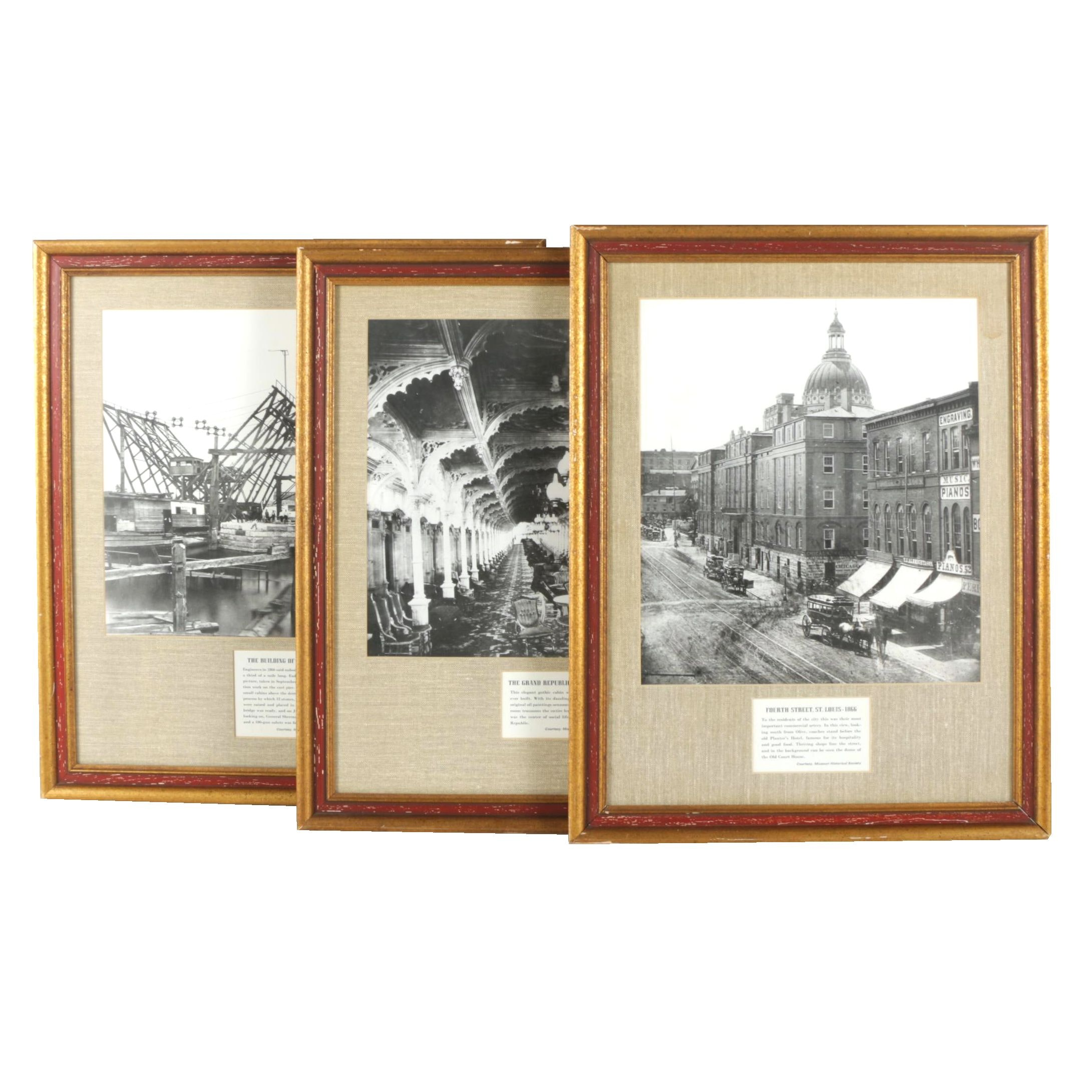 Black and White Photographs of Missouri Monuments
