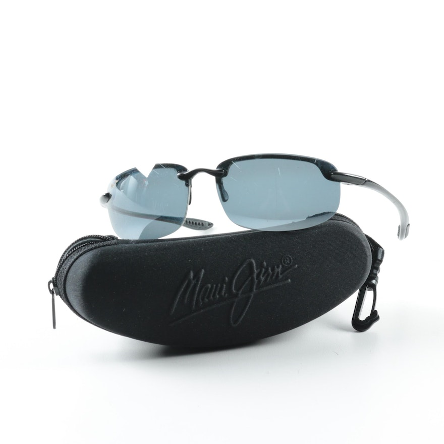 8de4871dc6 Maui Jim Sport Ho okipa Sunglasses with Case   EBTH