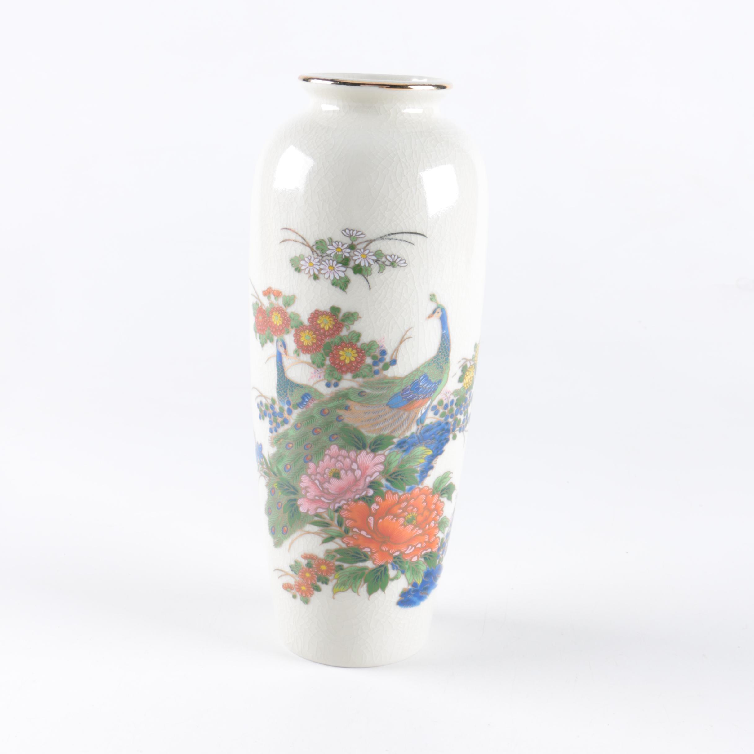 Japanese White Porcelain Vase