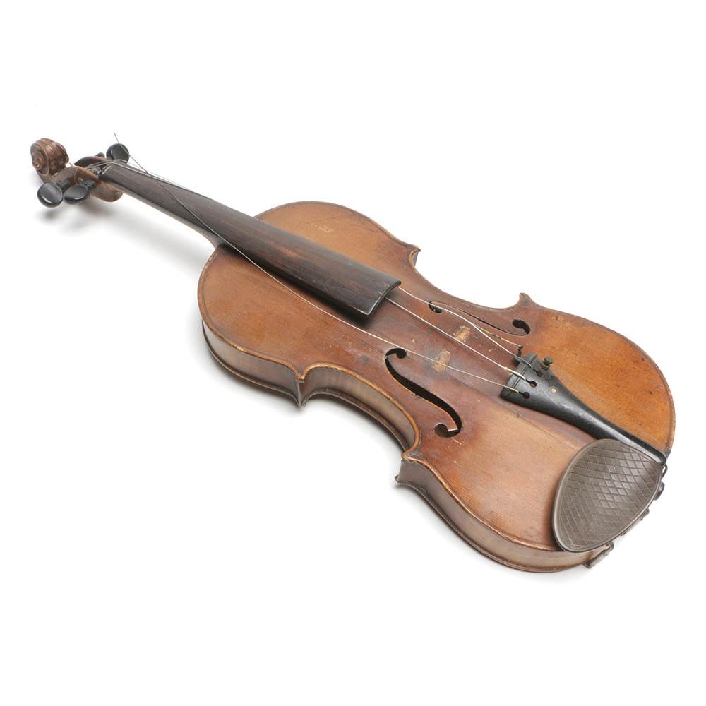 Vintage Full-Size Violin