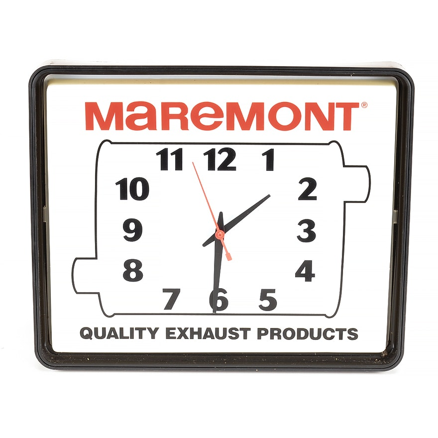 1994 maremont exhaust products light up wall clock ebth 1994 maremont exhaust products light up wall clock aloadofball Image collections