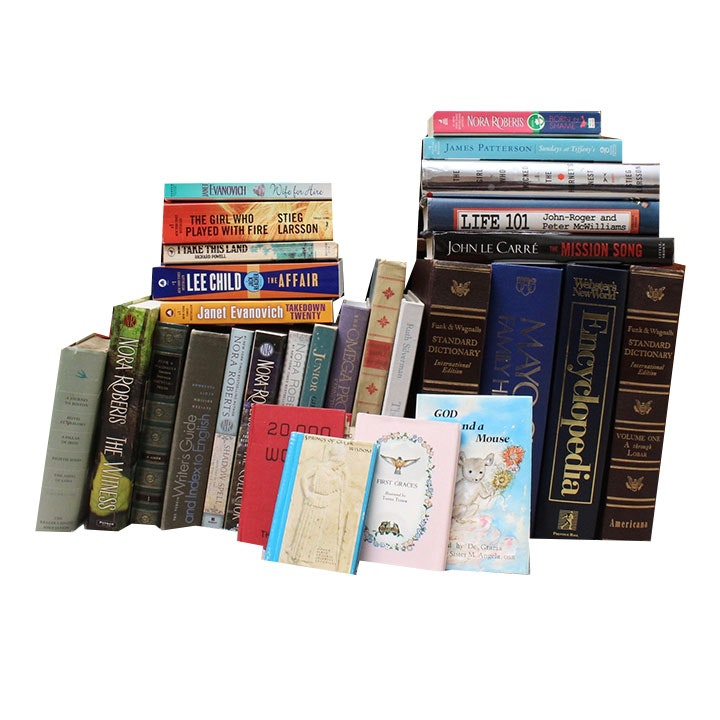 Assorted Books Featuring Janet Evanovich