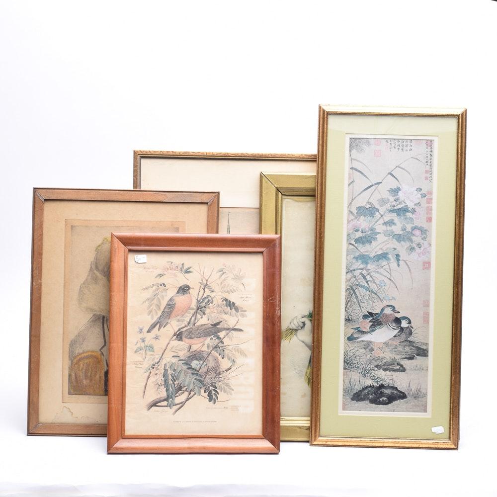 Intaglio and Planographic Prints
