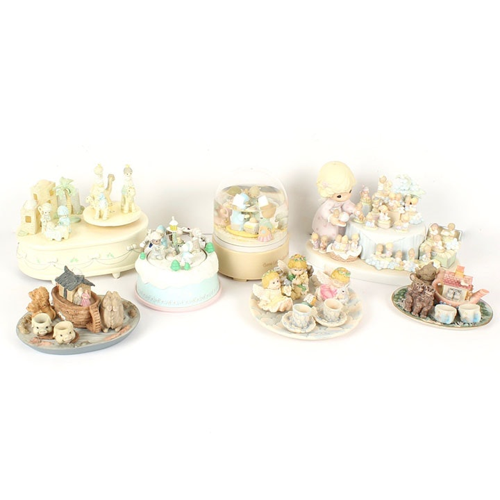 Decorative Figurines and Tea Sets