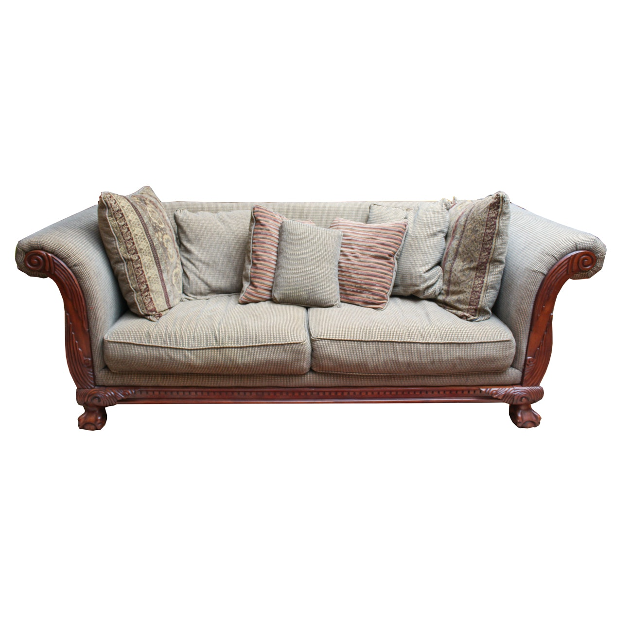 Oversized Upholstered Sofa by Klaussner Furniture