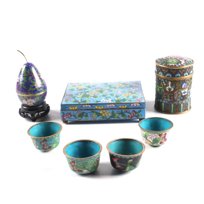 Cloisonné Decorative Items