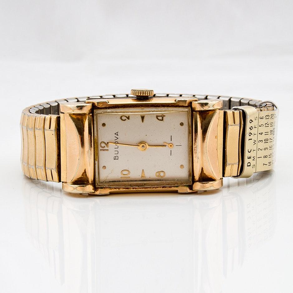 Bulova Expansion Wristwatch, Circa 1969