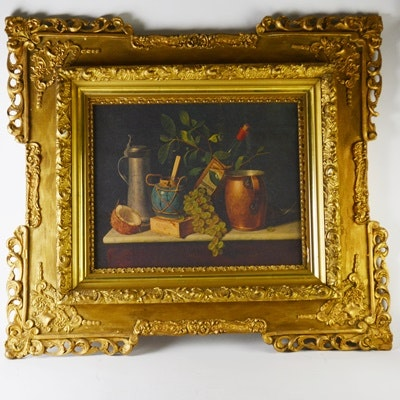Offset Lithograph Reproduction of Still Life