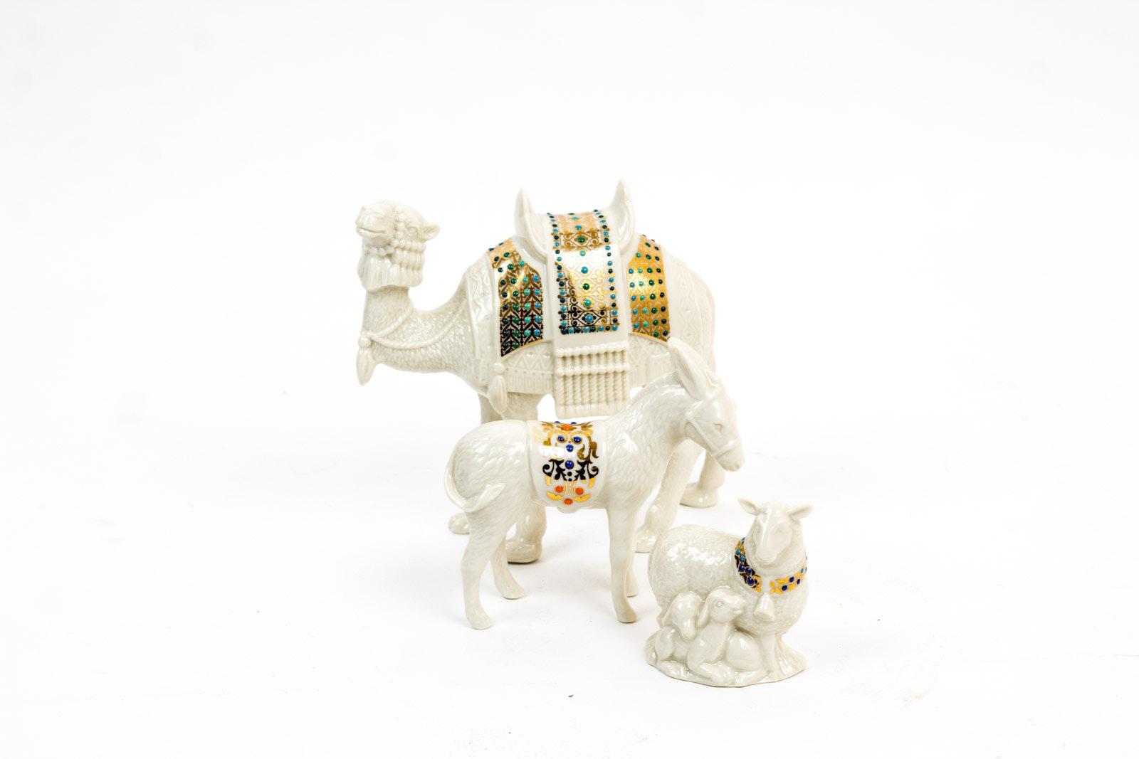 Lenox China Jewel Nativity Figurines