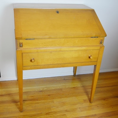 Willett Furniture Co. Maple Secretary