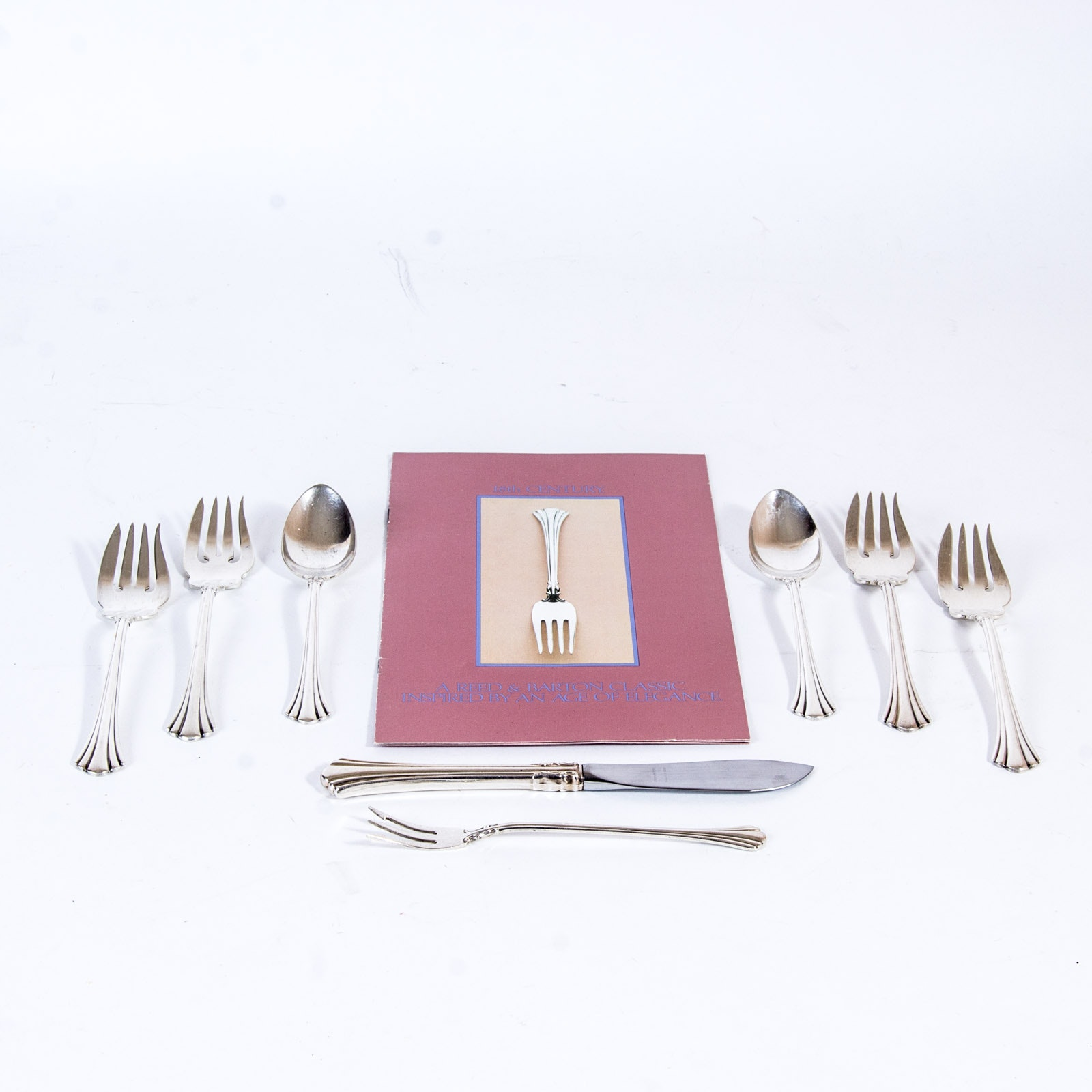 """Reed & Barton """"18th Century"""" Sterling Silver Flatware"""