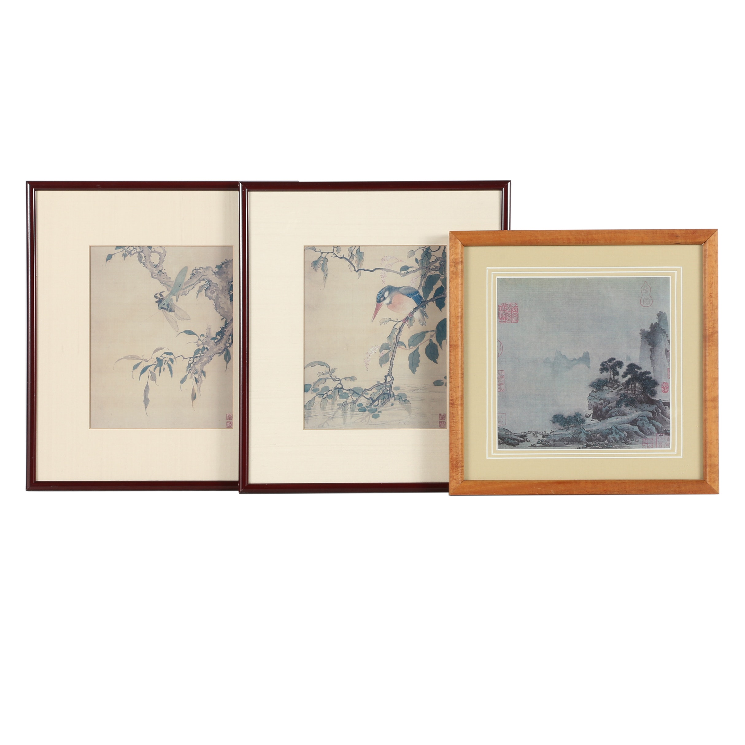 Reproduction Prints of Chinese Paintings