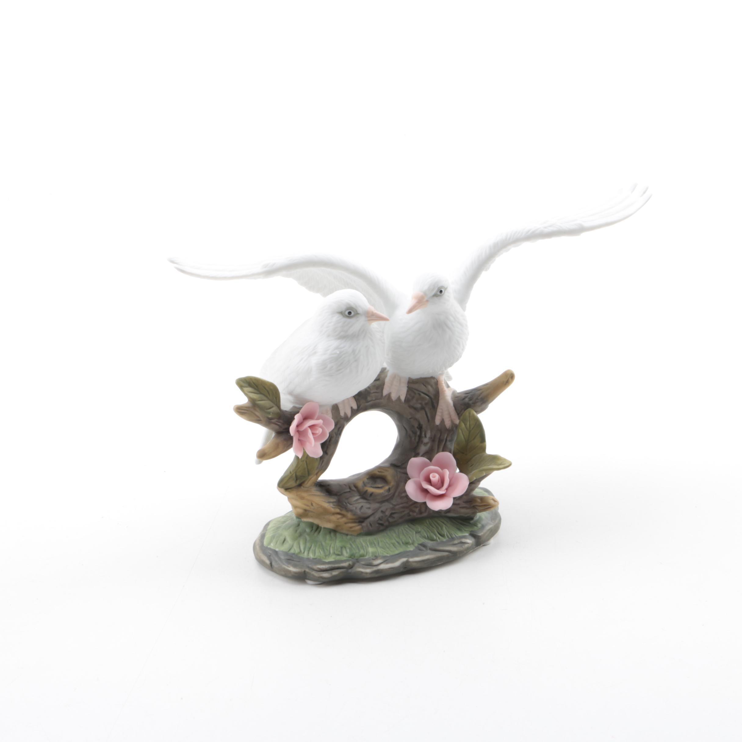 Wellington Collection Porcelain Bird Figurine