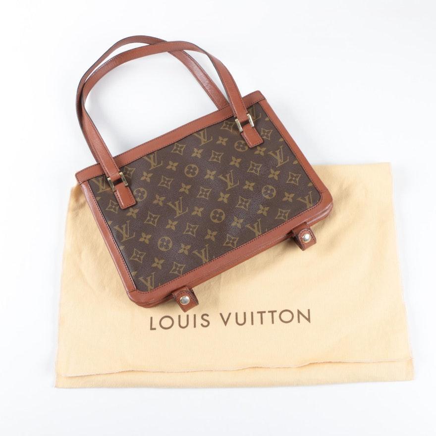 c0ba8659792 Vintage Louis Vuitton Monogram Canvas Shoulder Bag   EBTH