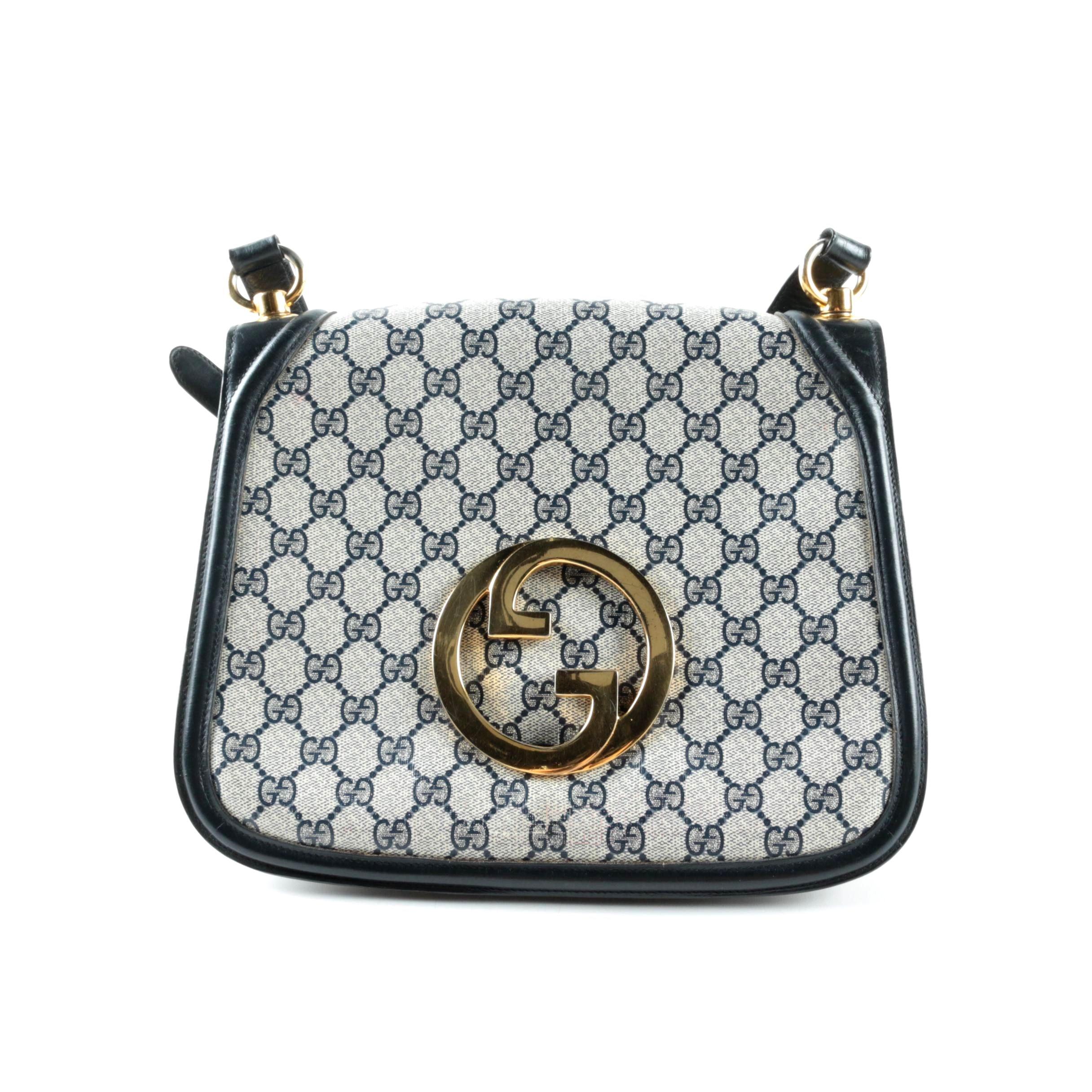 Vintage Gucci GG Supreme Canvas Handbag